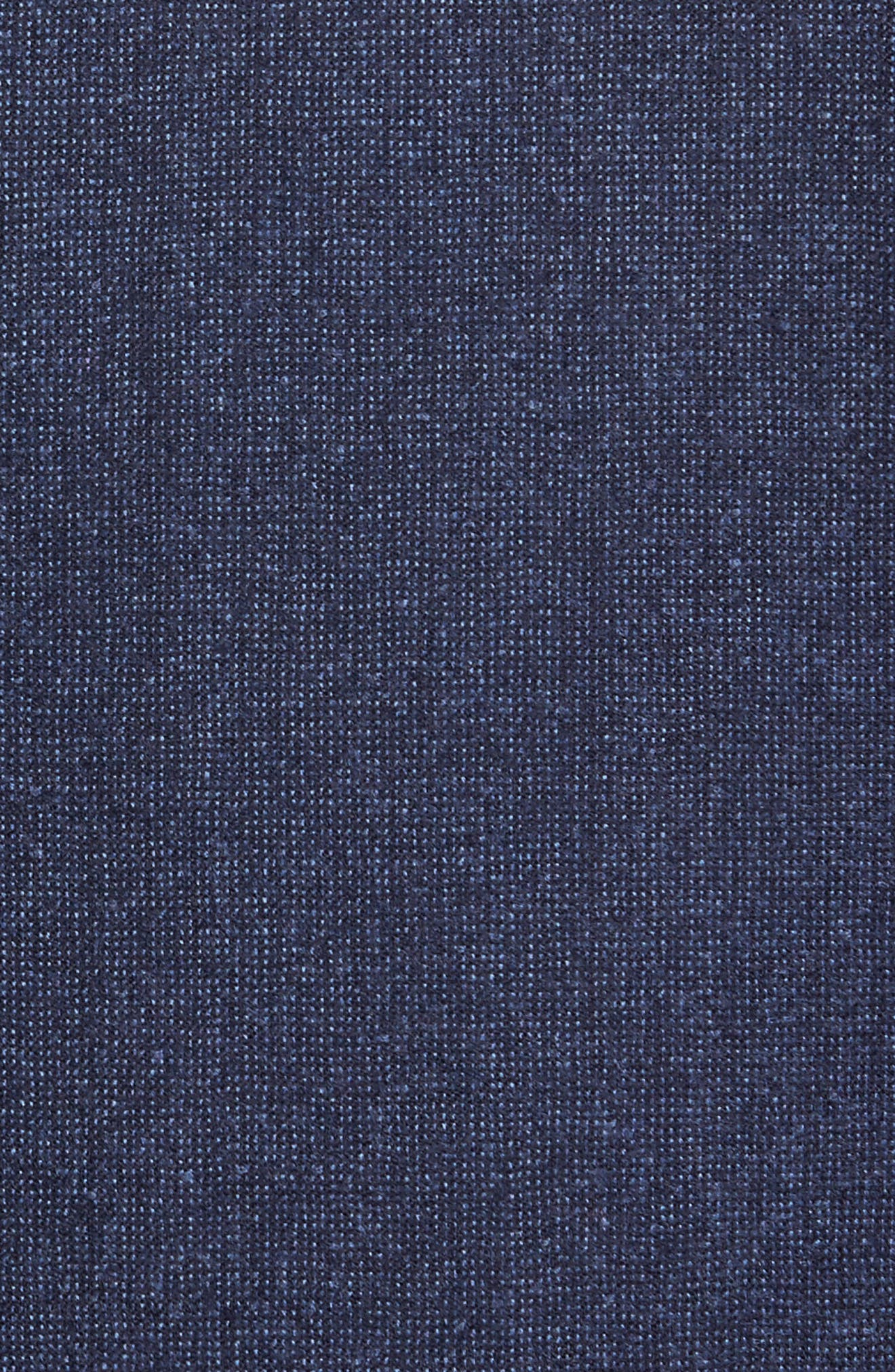 Aaron Classic Fit Wool Blazer,                             Alternate thumbnail 5, color,                             Navy