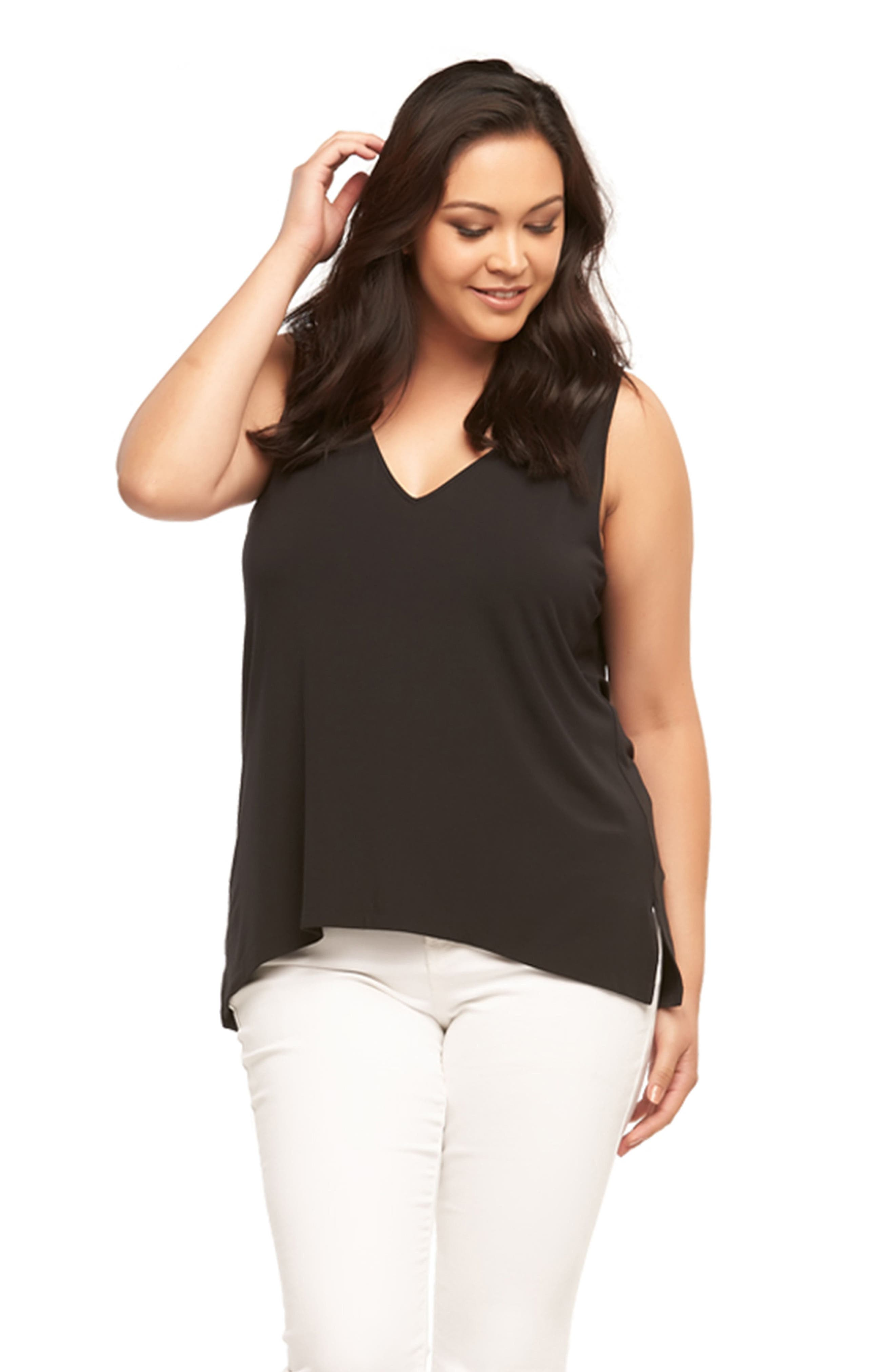 Alternate Image 3  - Tart Anais Back Strap Tank (Plus Size)