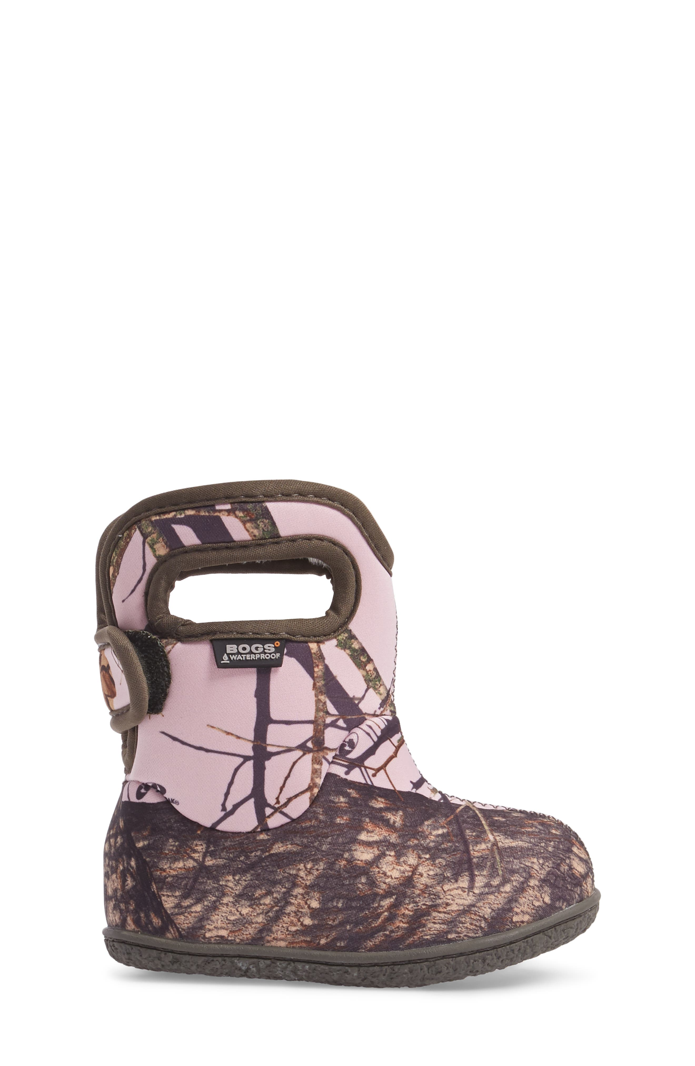 Alternate Image 3  - Bogs Baby Bogs Classic Camo Insulated Waterproof Boot (Baby, Walker & Toddler)