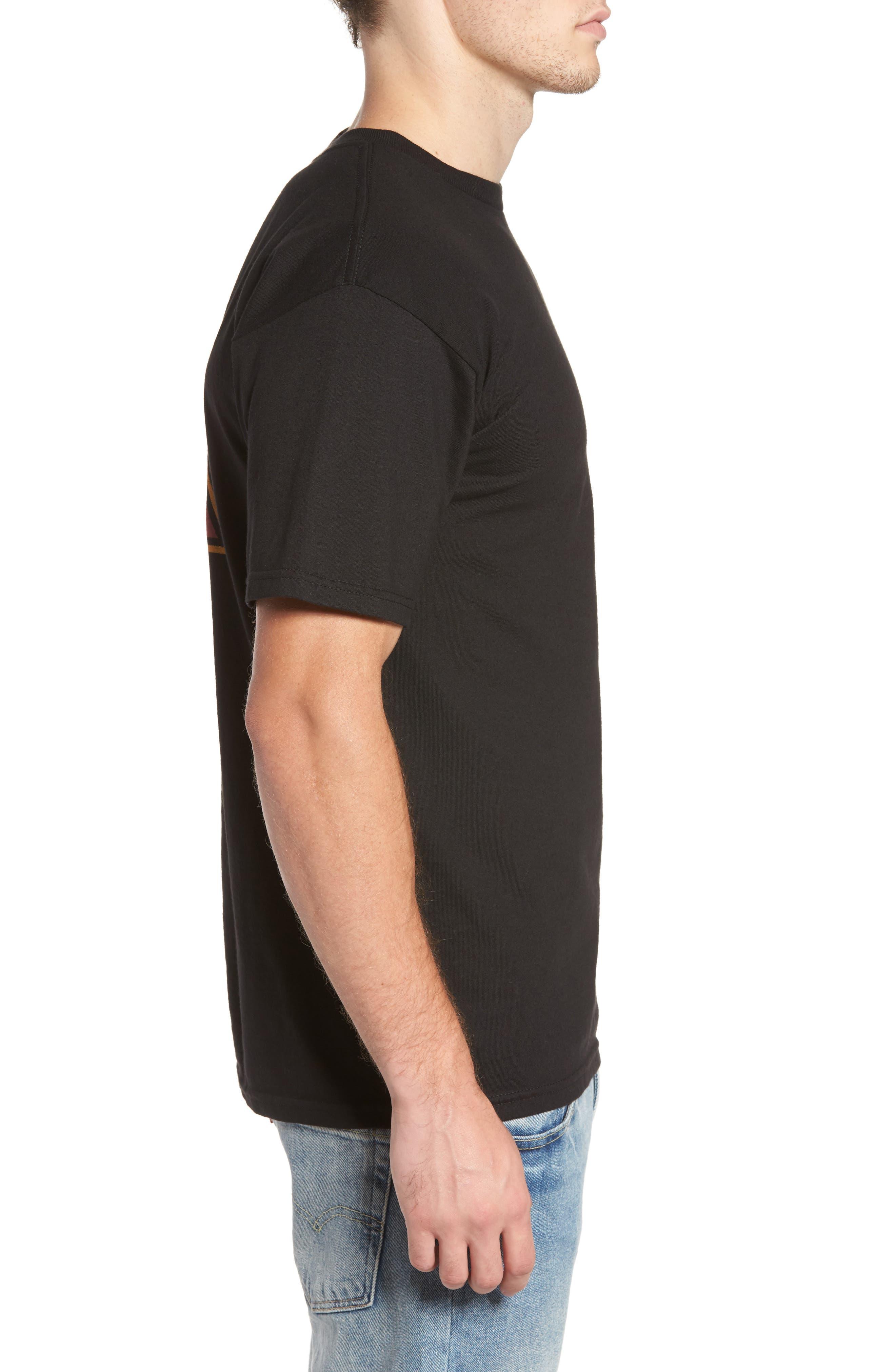 Metal Madness Graphic T-Shirt,                             Alternate thumbnail 3, color,                             Black