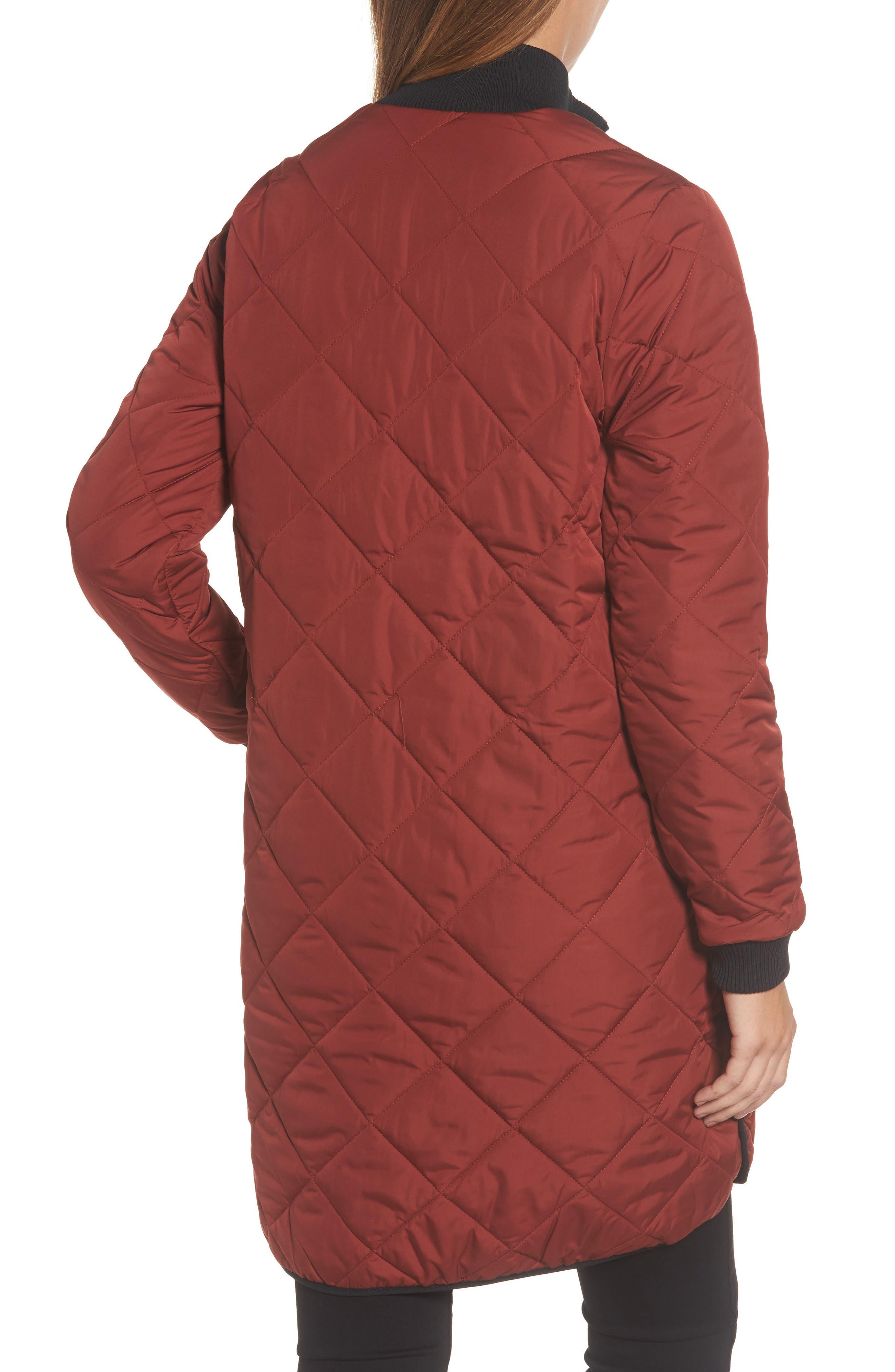 Alternate Image 2  - IIse Jacobsen Hornbaek Quilted Coat