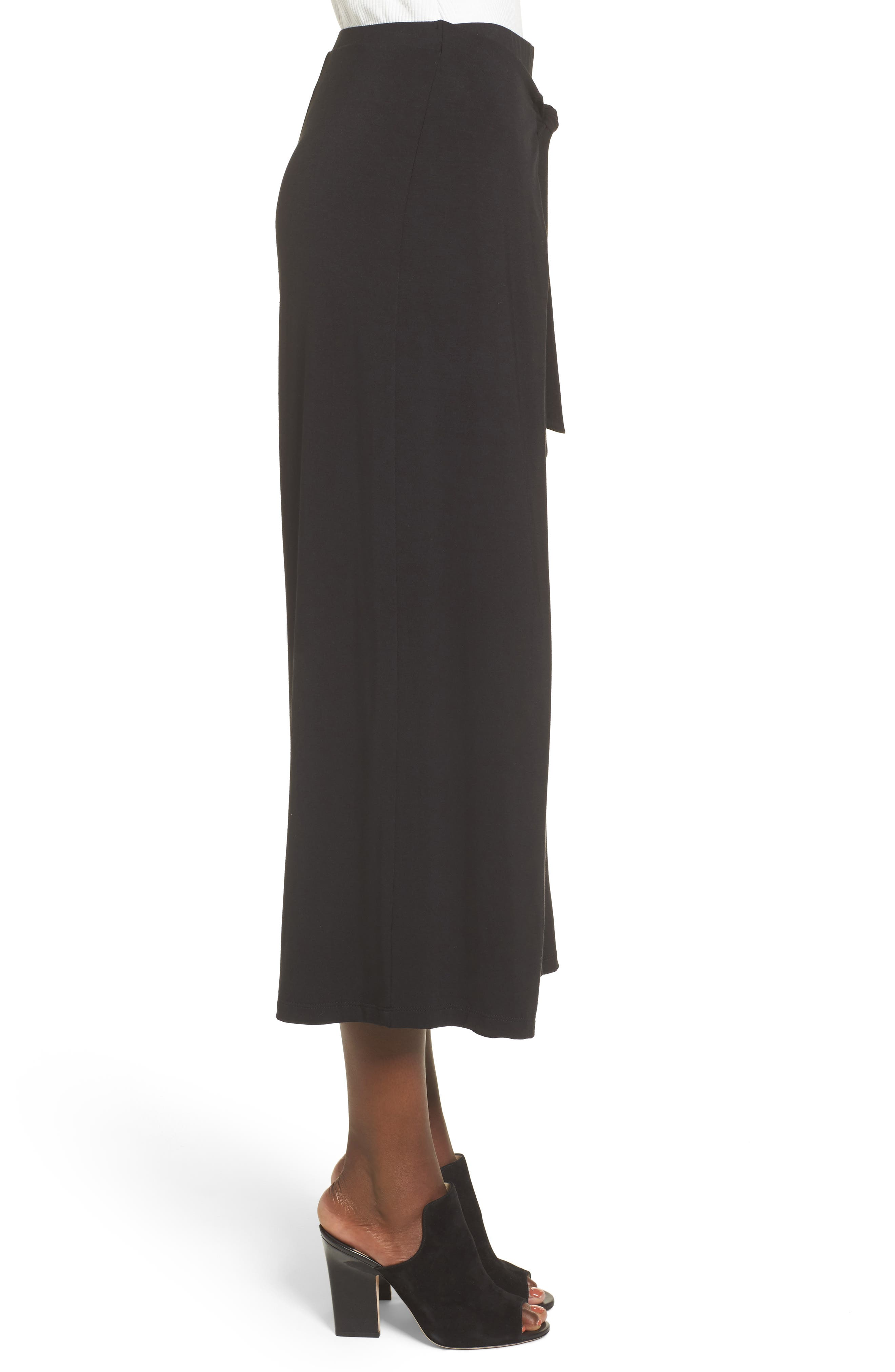 Alternate Image 3  - Soprano Tie Front Wide Leg Pants