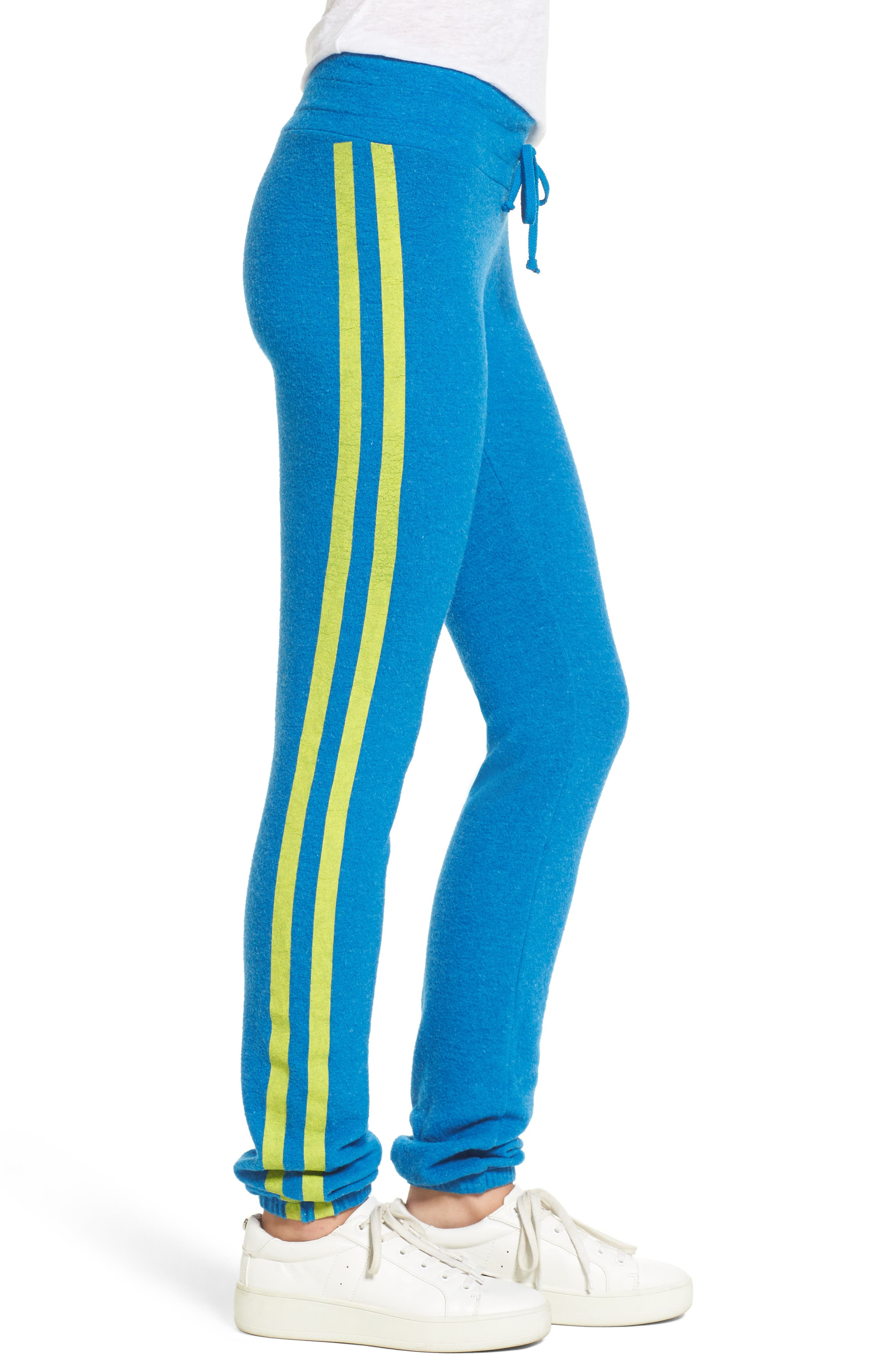 Alternate Image 3  - Dream Scene Sporty Stripe Track Pants