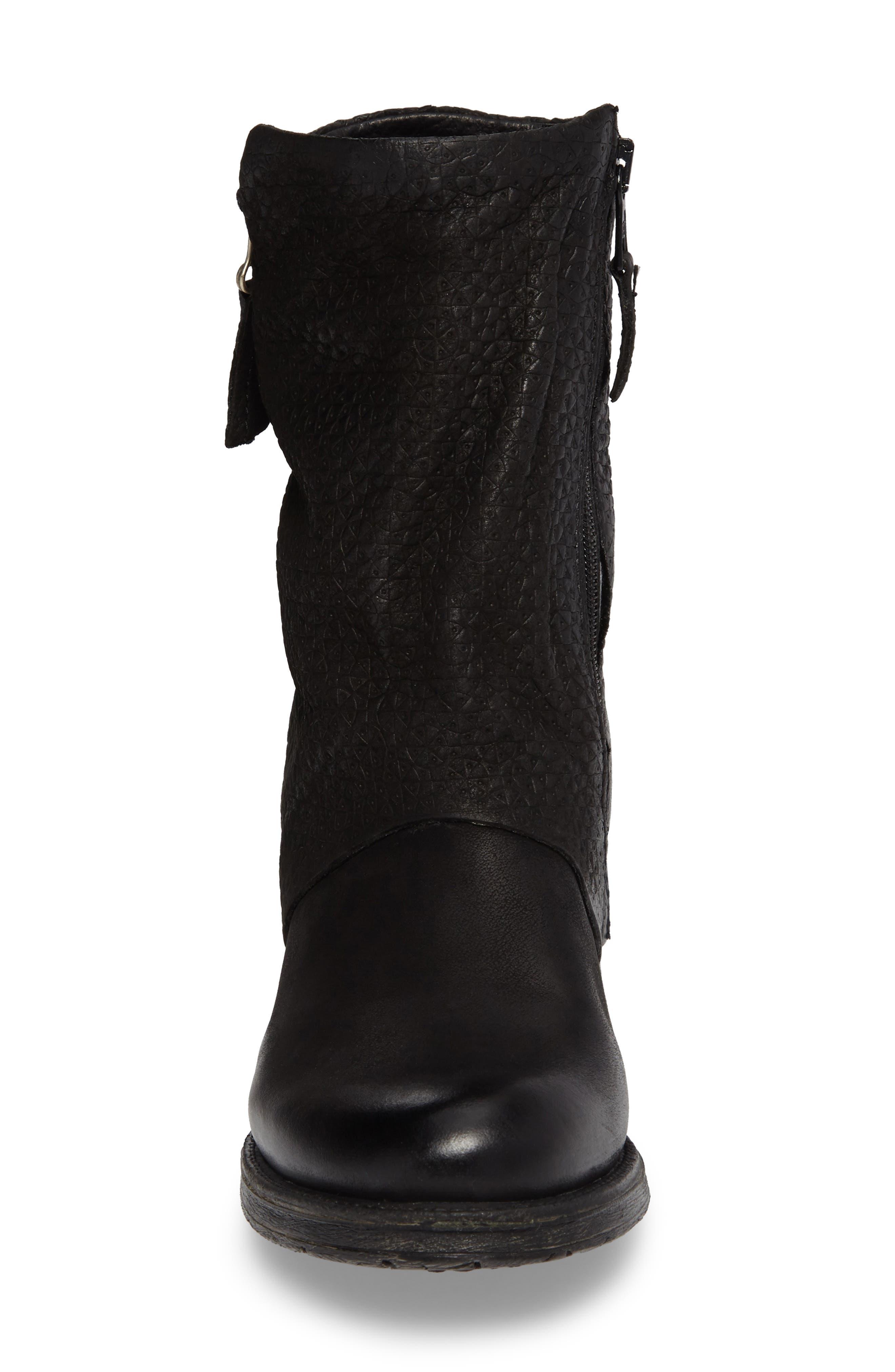 Alternate Image 4  - Miz Mooz Nugget Asymmetrical Textured Boot (Women)
