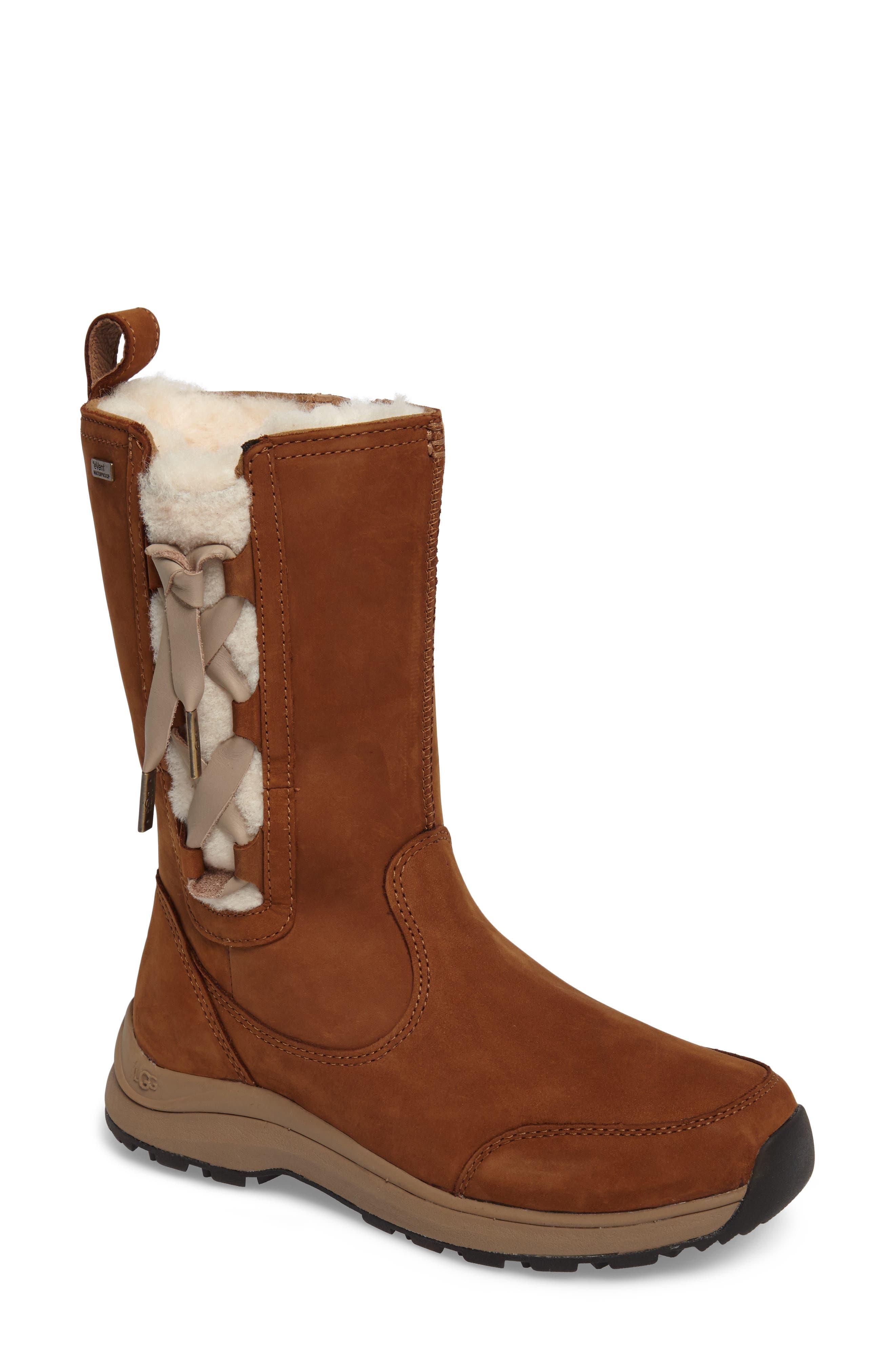Alternate Image 1 Selected - UGG® Suvi Waterproof Insulated Winter Boot (Women)