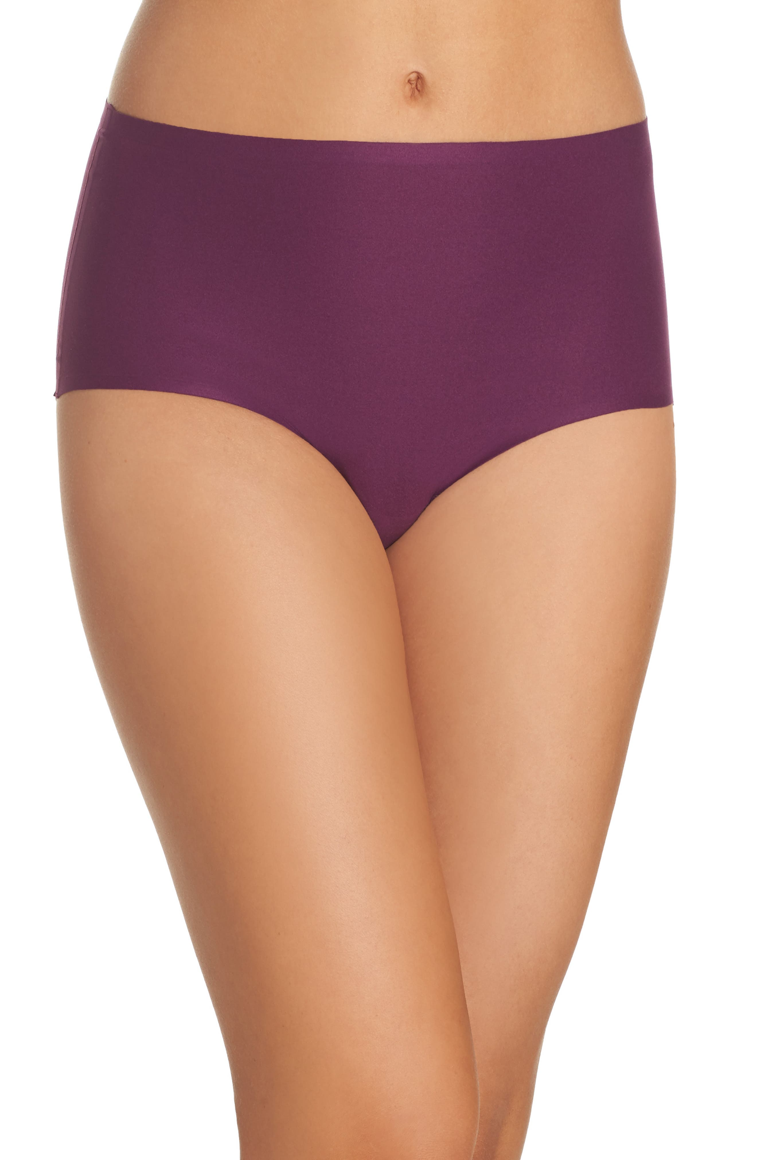 Alternate Image 1 Selected - Chantelle Intimates Soft Stretch High Waist Seamless Briefs (3 for $45)