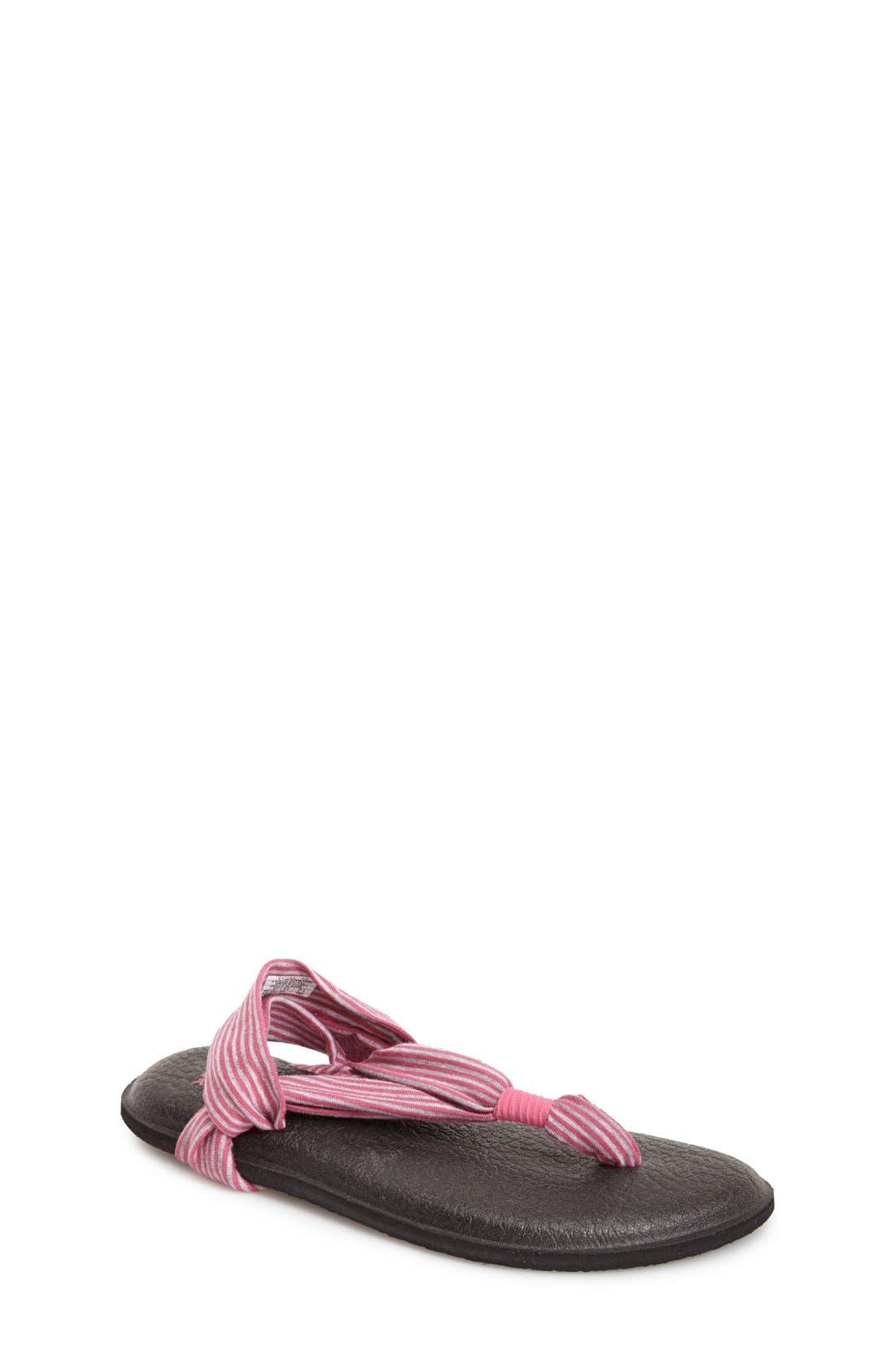 Sanuk 'Yoga Sling' Sandal (Little Kid & Big Kid)