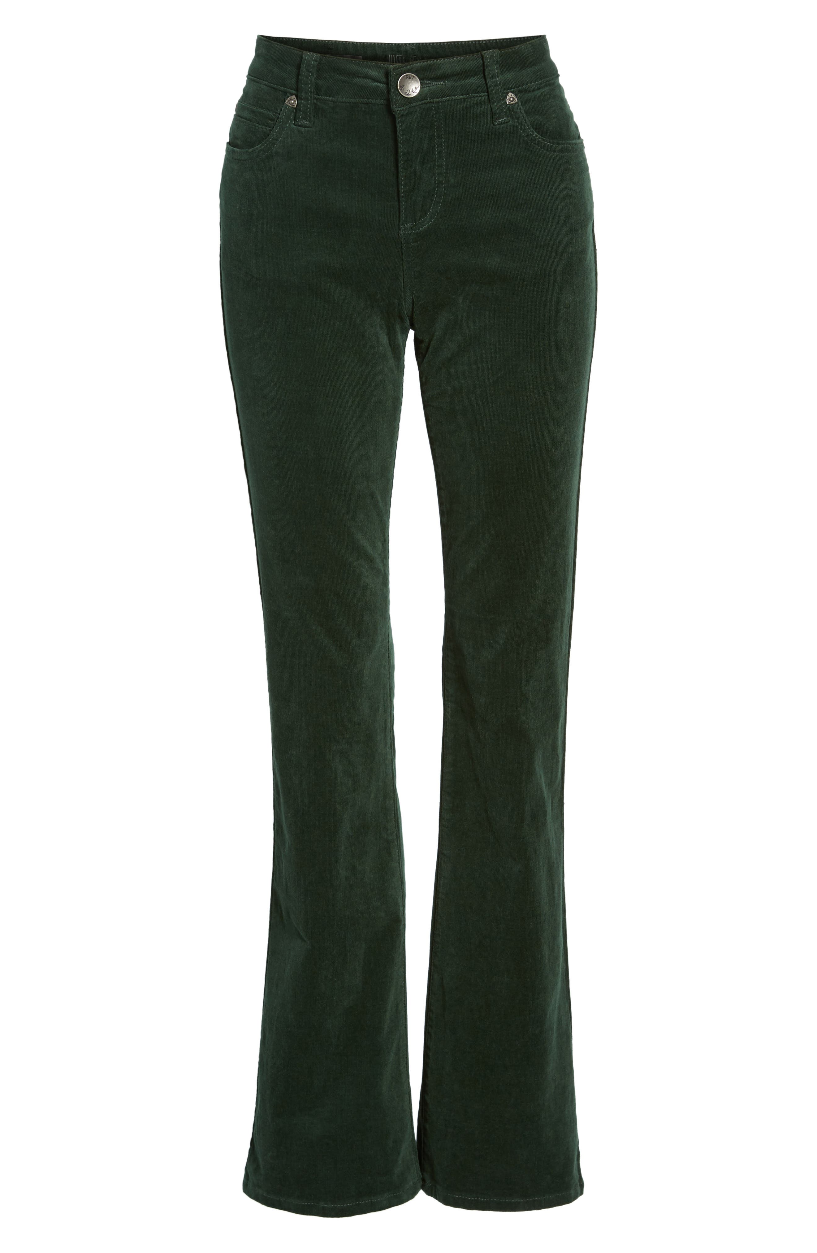 Womens Green Corduroy Pants 0BsKXAyF