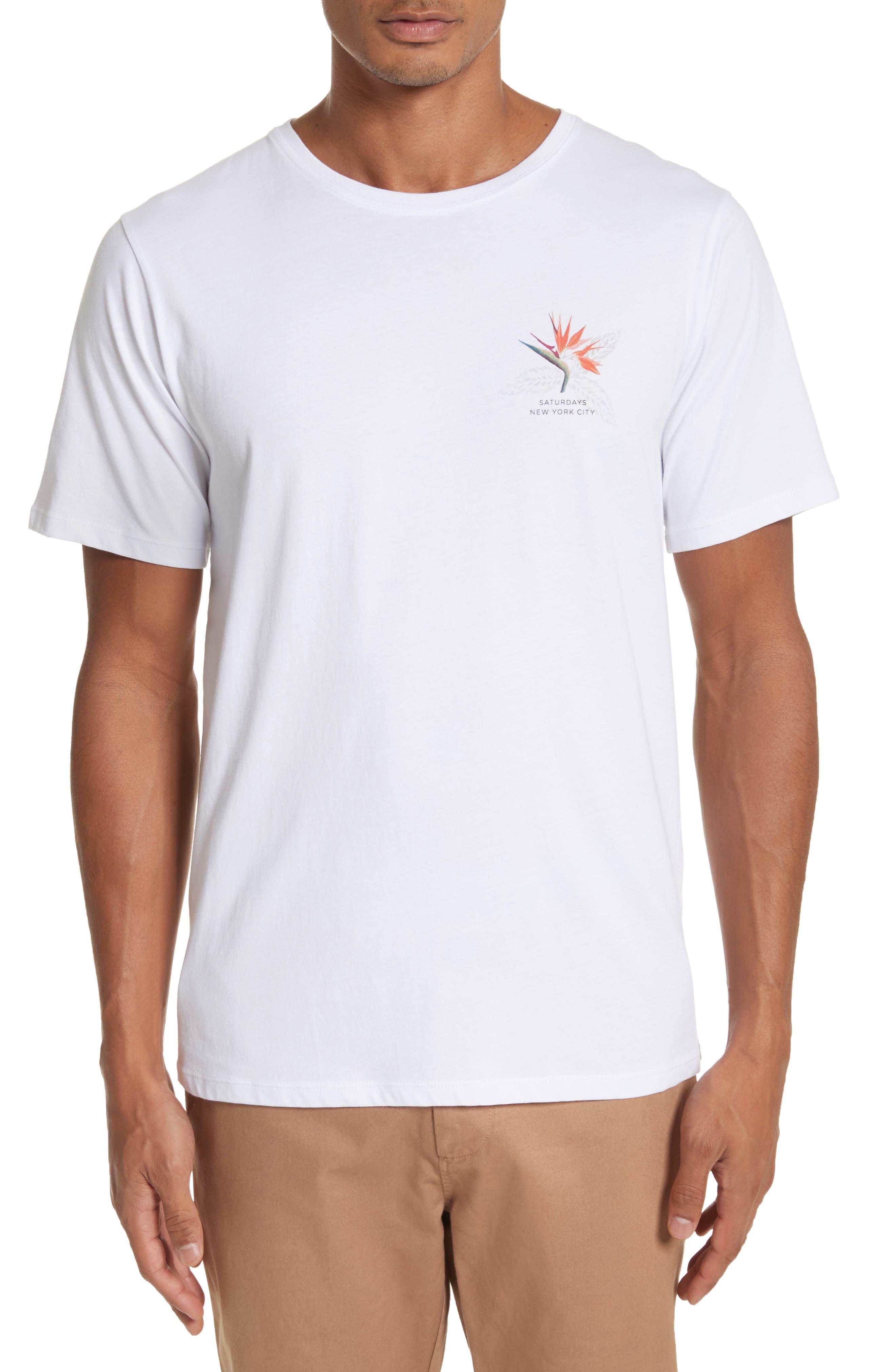 Main Image - Saturdays NYC Paradise Graphic T-Shirt