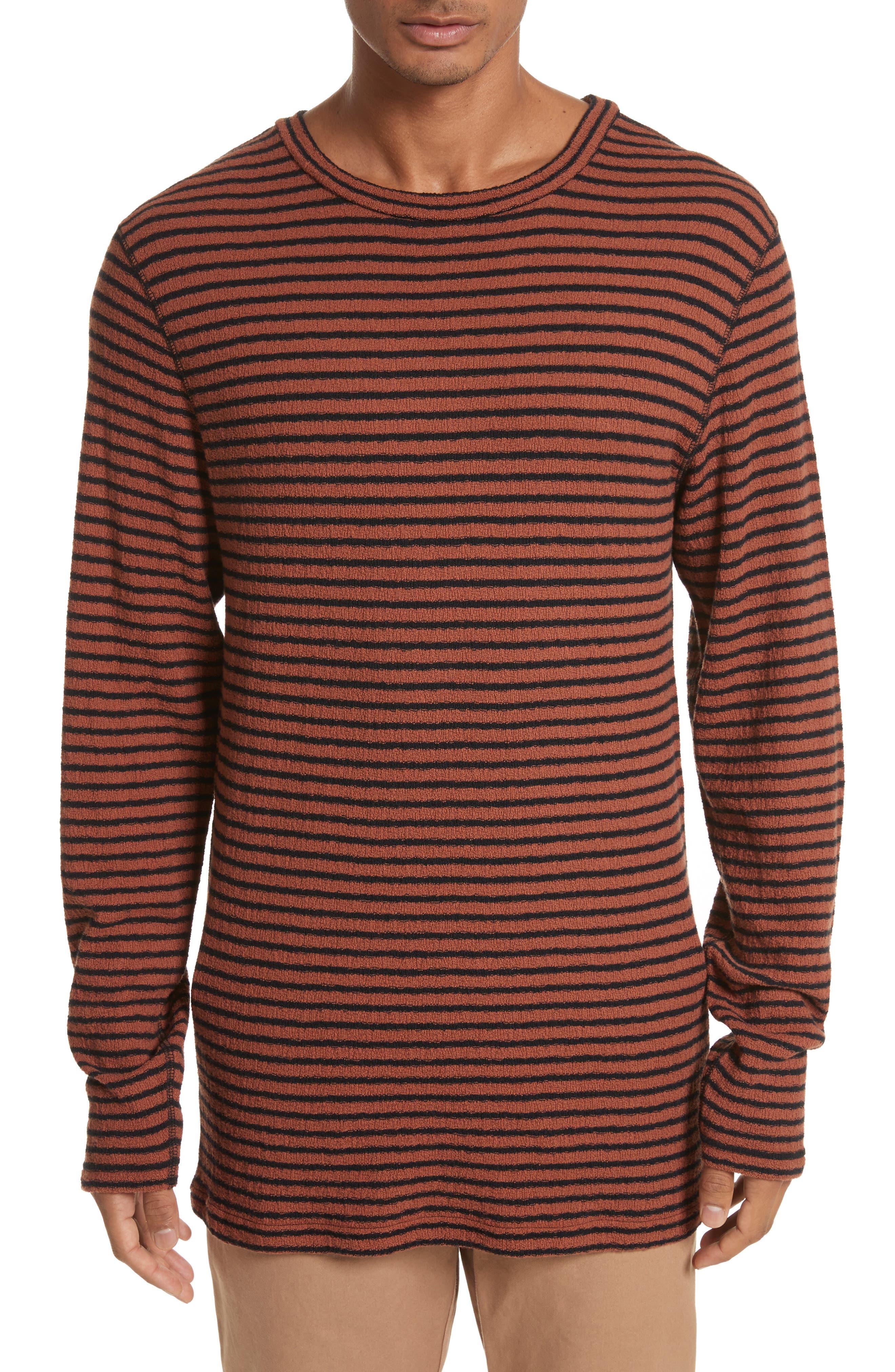 Main Image - Saturdays NYC Alex Stripe Long Sleeve T-Shirt