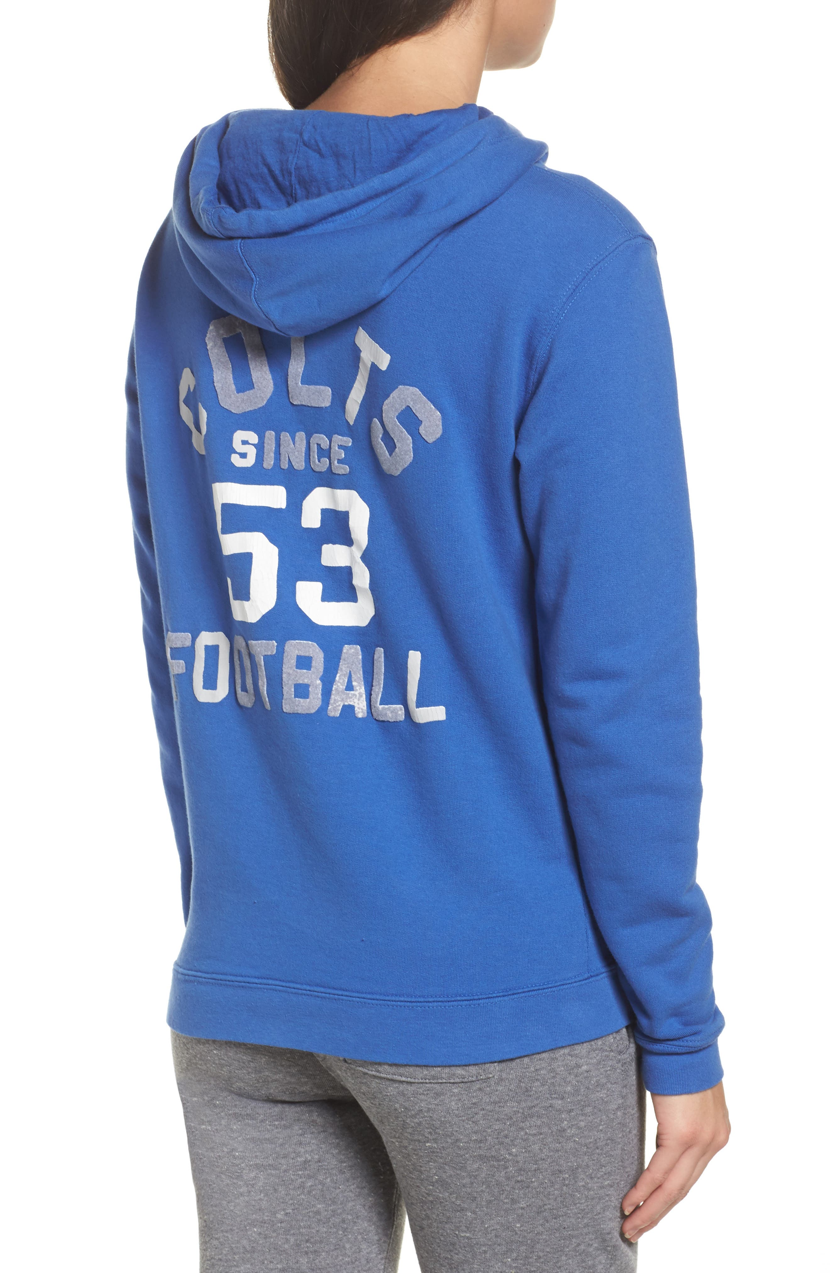 NFL Indianapolis Colts Sunday Hoodie,                             Alternate thumbnail 2, color,                             Liberty