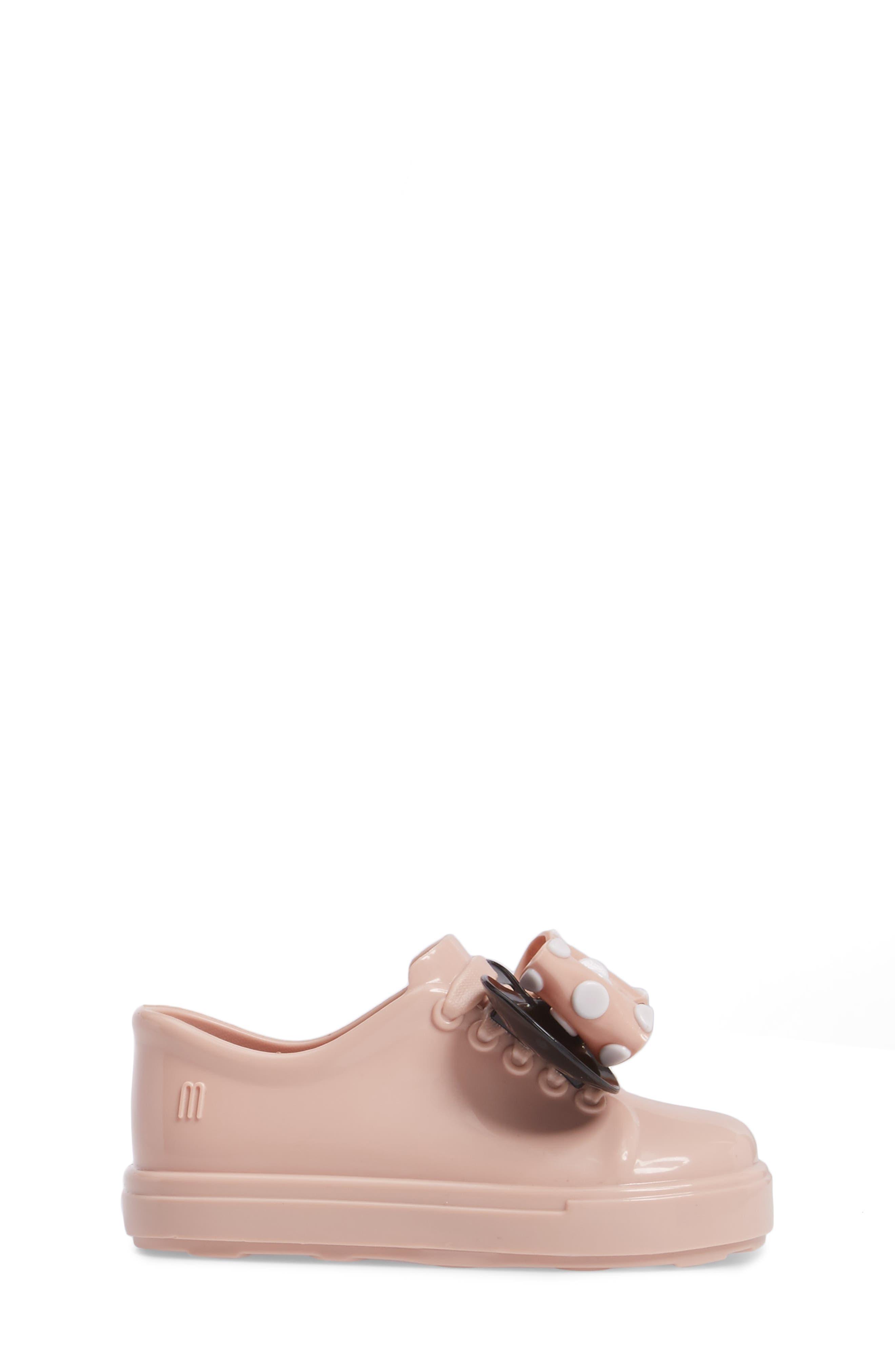 Alternate Image 3  - Mini Melissa Disney® Be Minnie Slip-On Sneaker (Walker & Toddler)