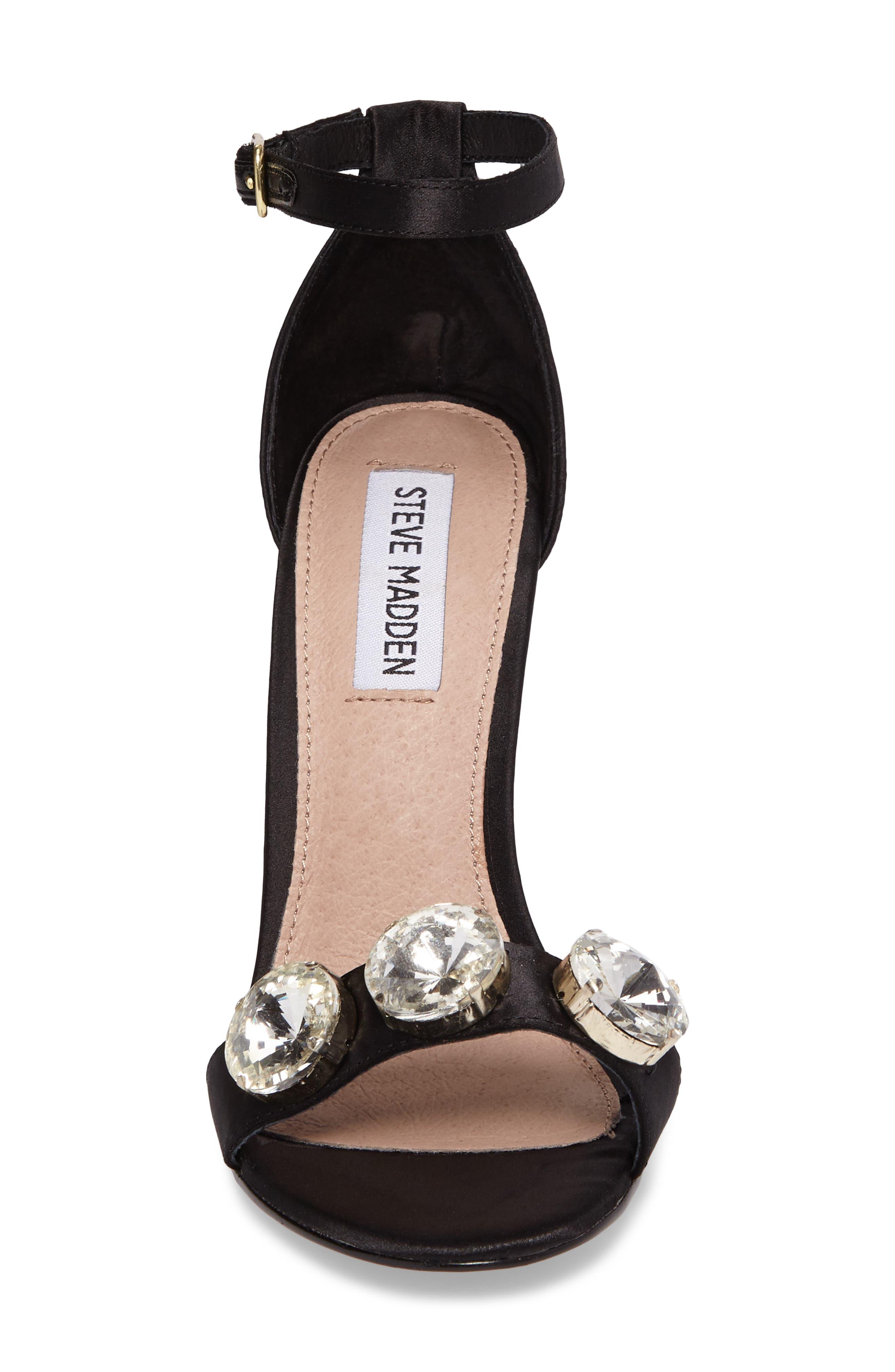 Alternate Image 4  - Steve Madden Fabulous Embellished Sandal (Women)