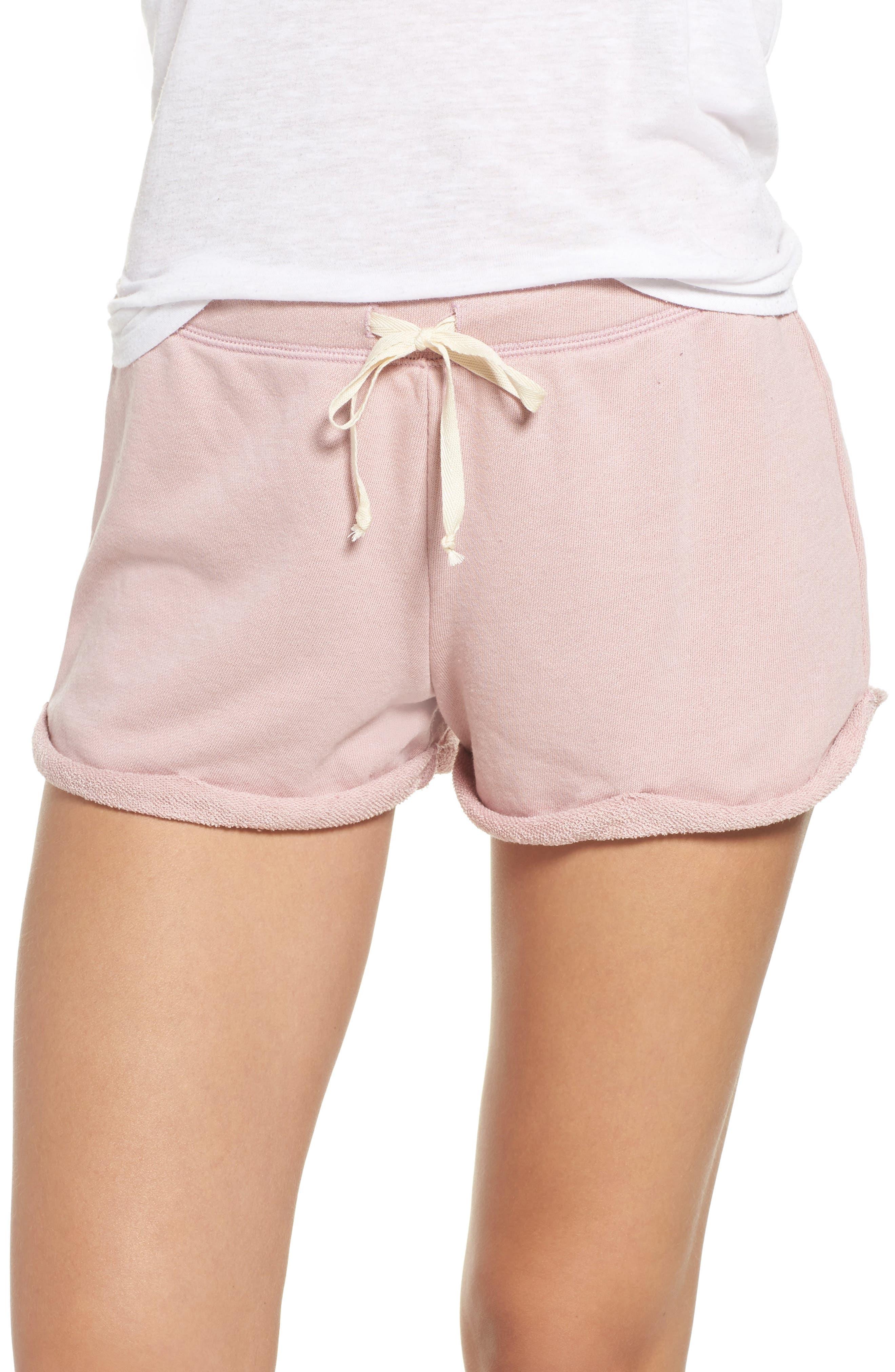 Lounge Shorts,                         Main,                         color, Silk