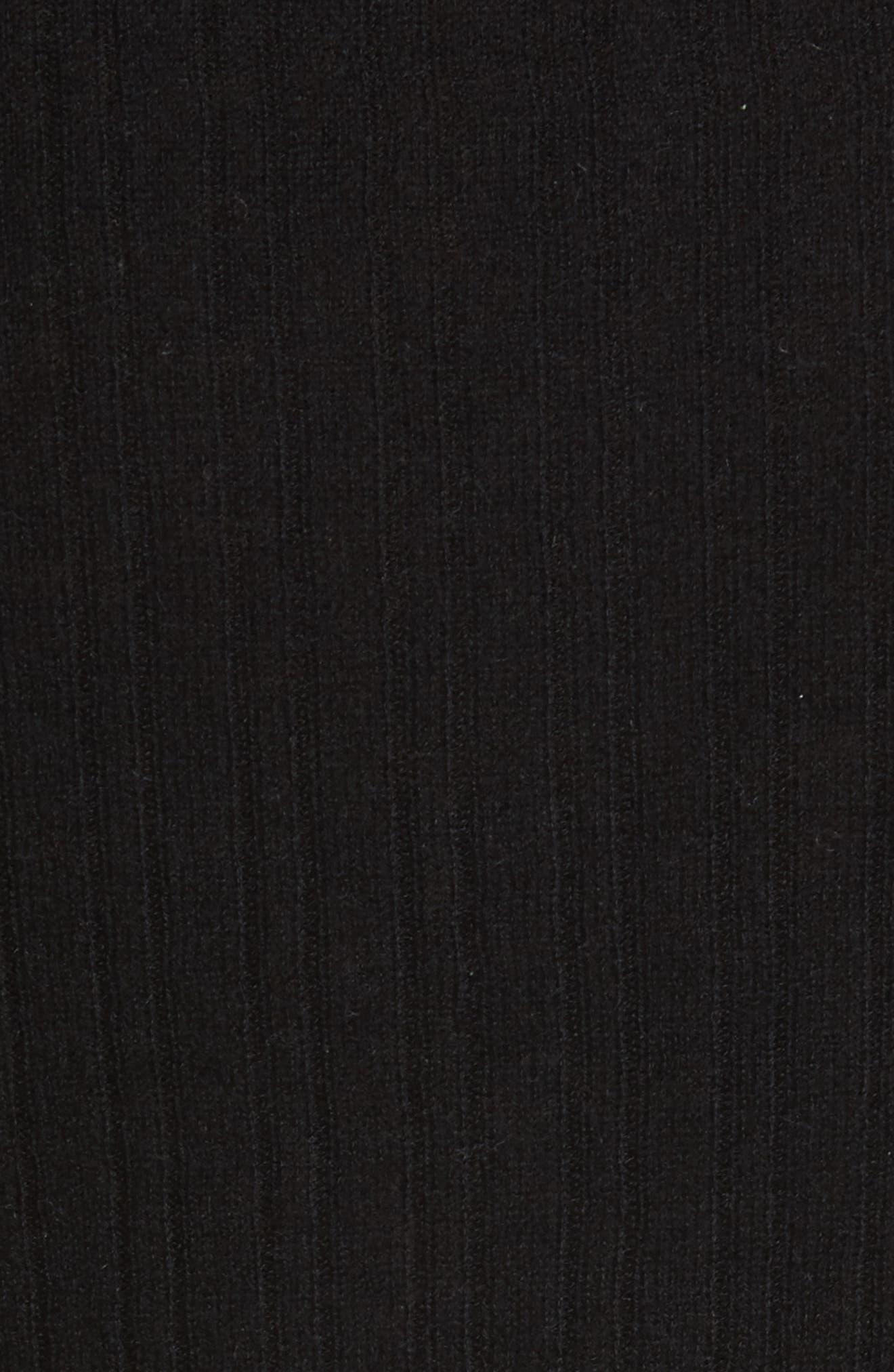 Alternate Image 5  - Vince Ribbed Cashmere V-Neck Sweater