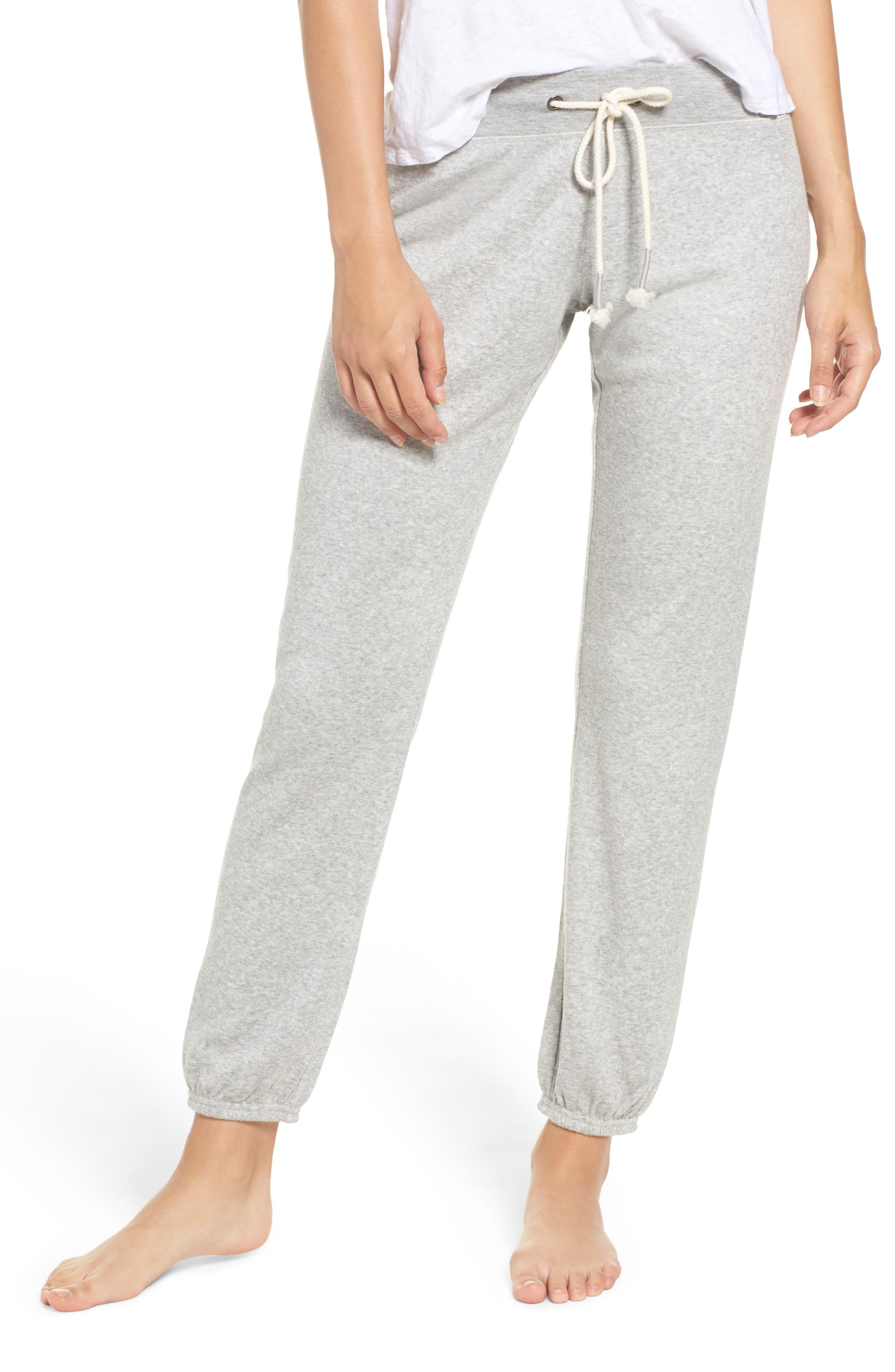 Main Image - Make + Model Dreamy Fleece Jogger Pants
