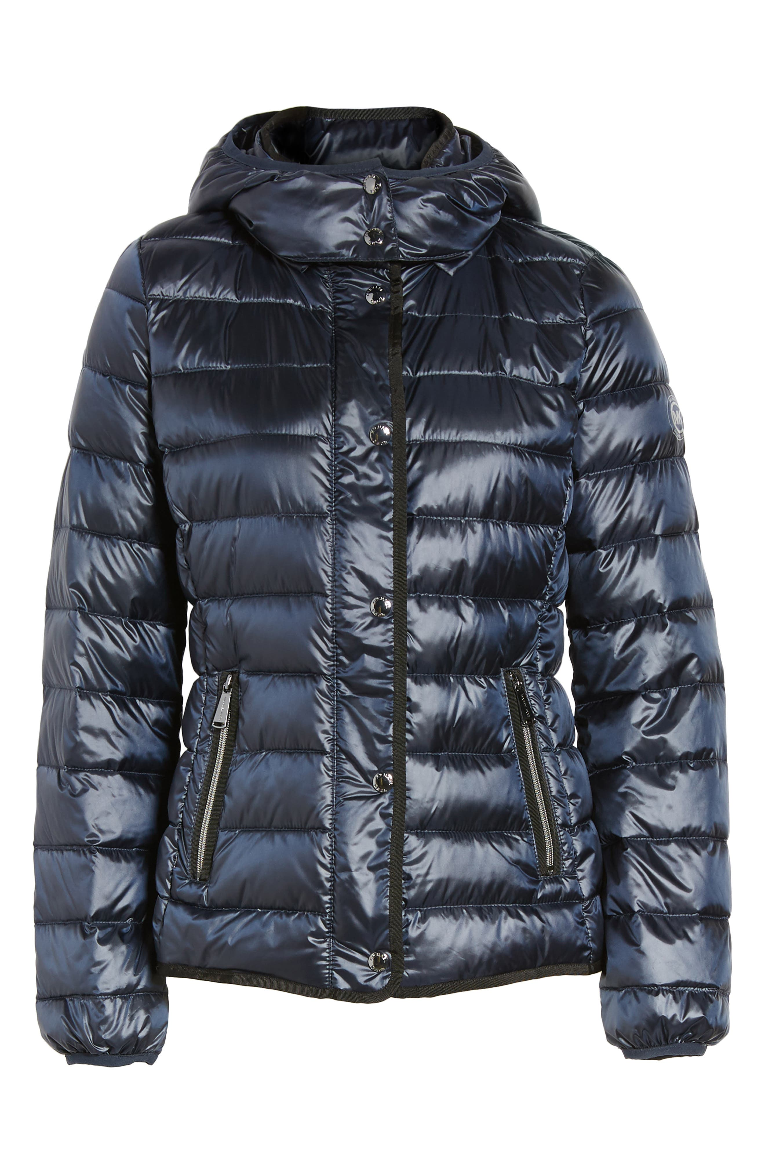 Alternate Image 7  - MICHAEL Michael Kors Packable Insulated Jacket with Removable Hood