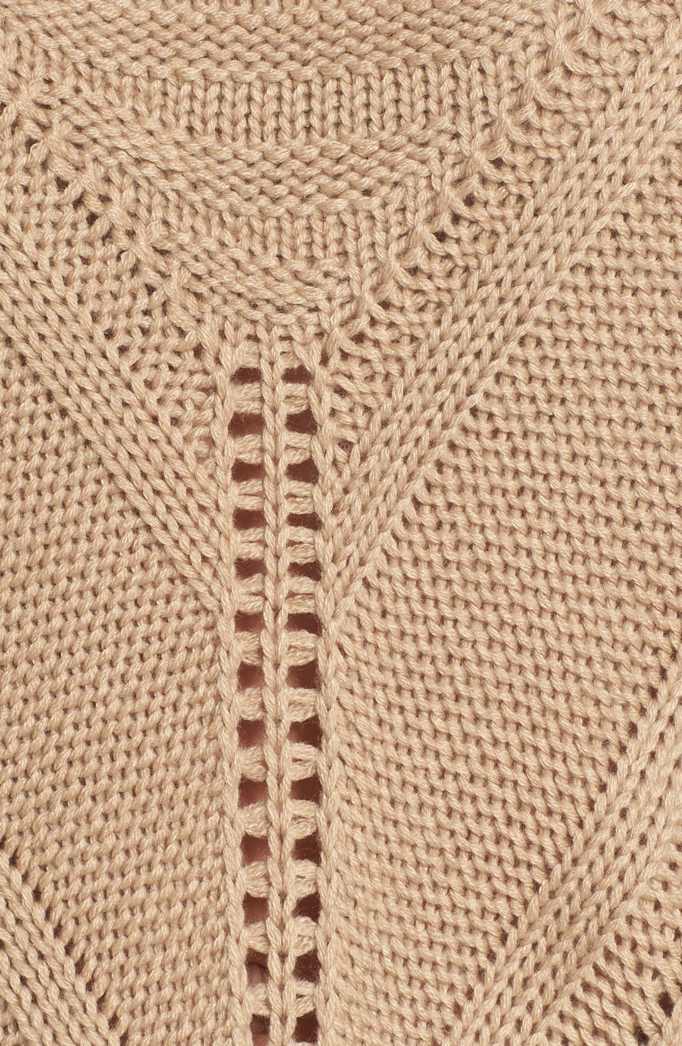 Alternate Image 6  - Moon River Oversize Drop Shoulder Sweater