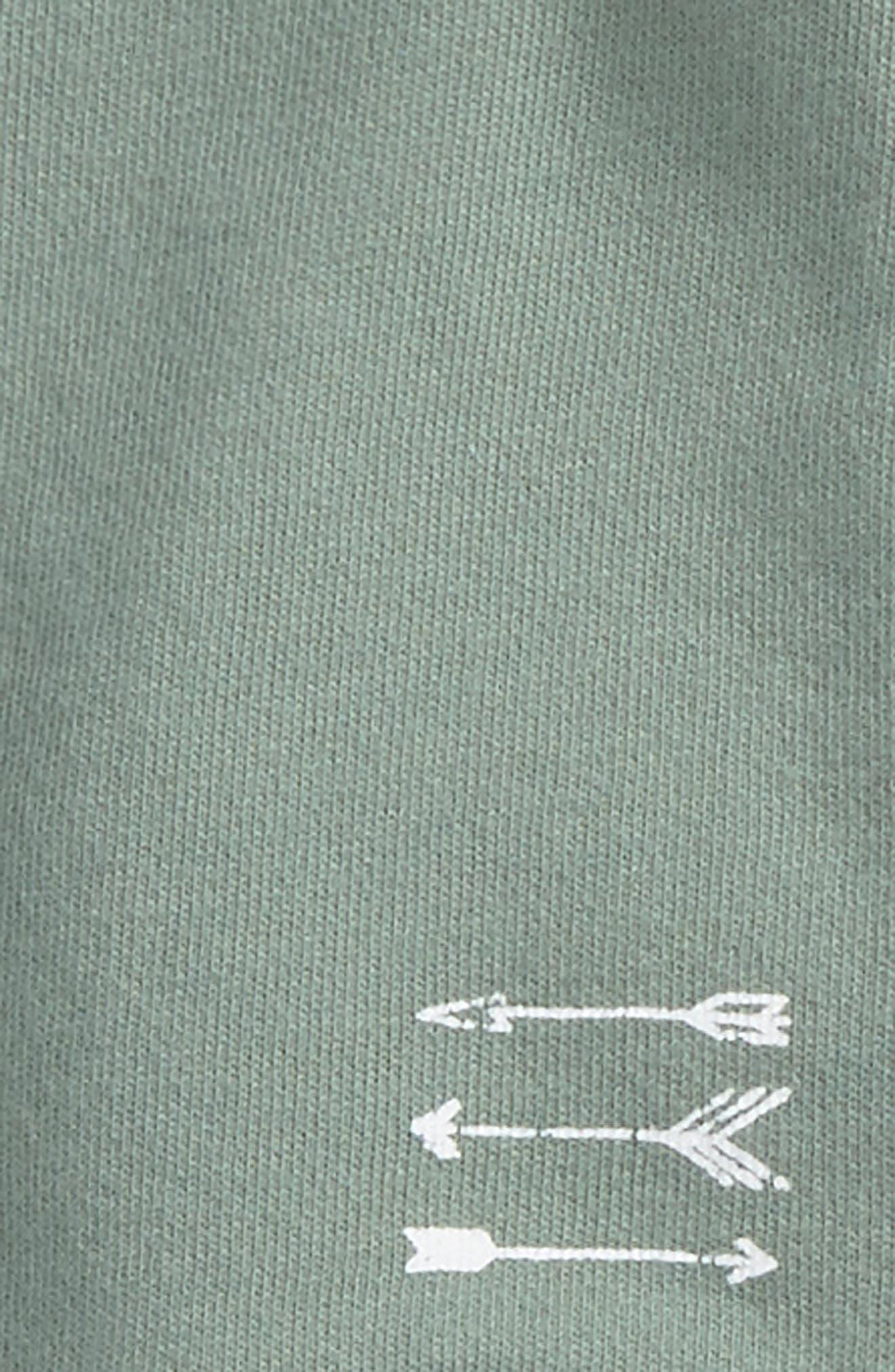 Alternate Image 2  - Splendid Sweatshirt & Stripe Pants Set (Baby Boys)