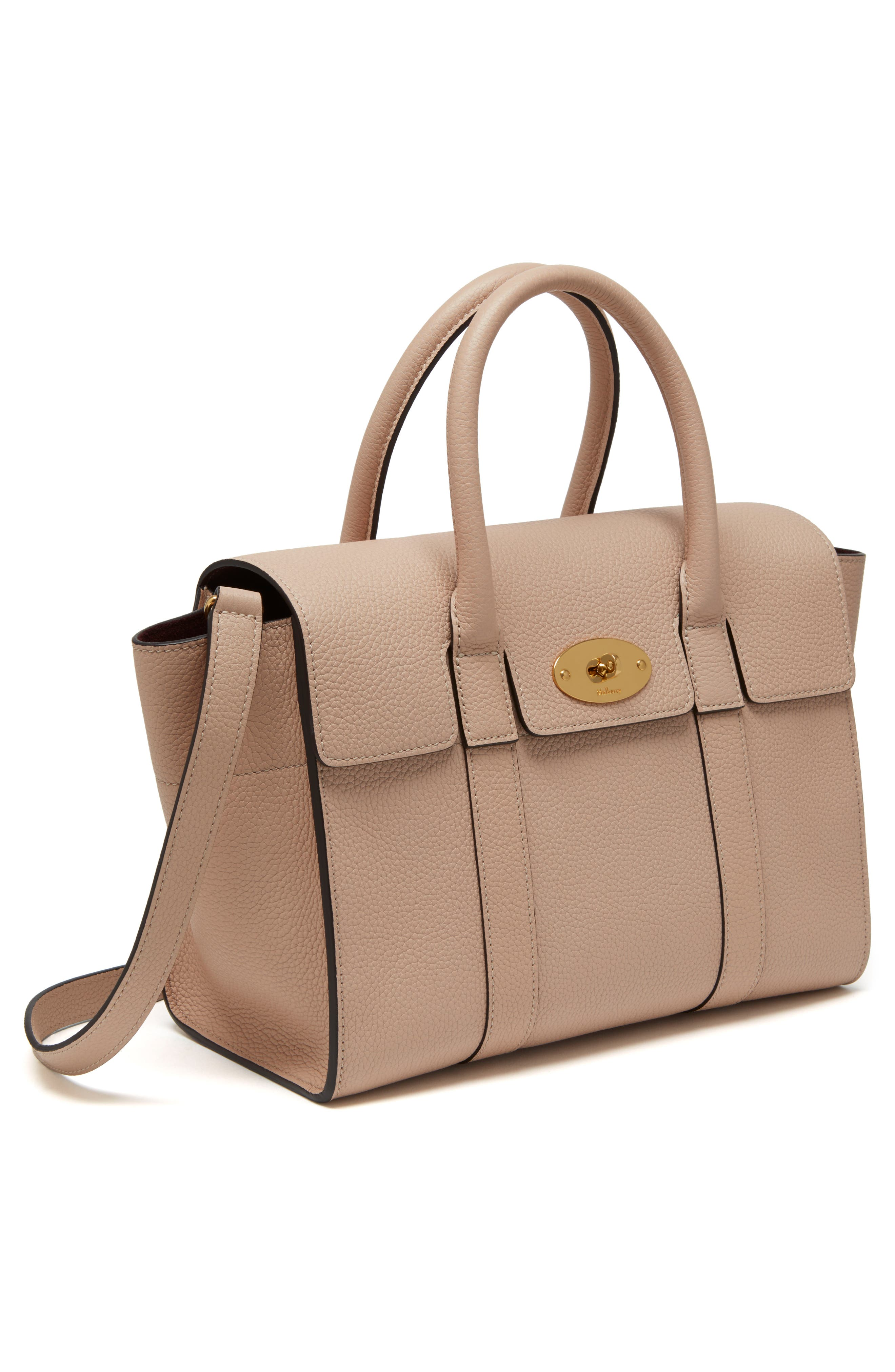 Alternate Image 1 Selected - Mulberry Small Bayswater Leather Satchel