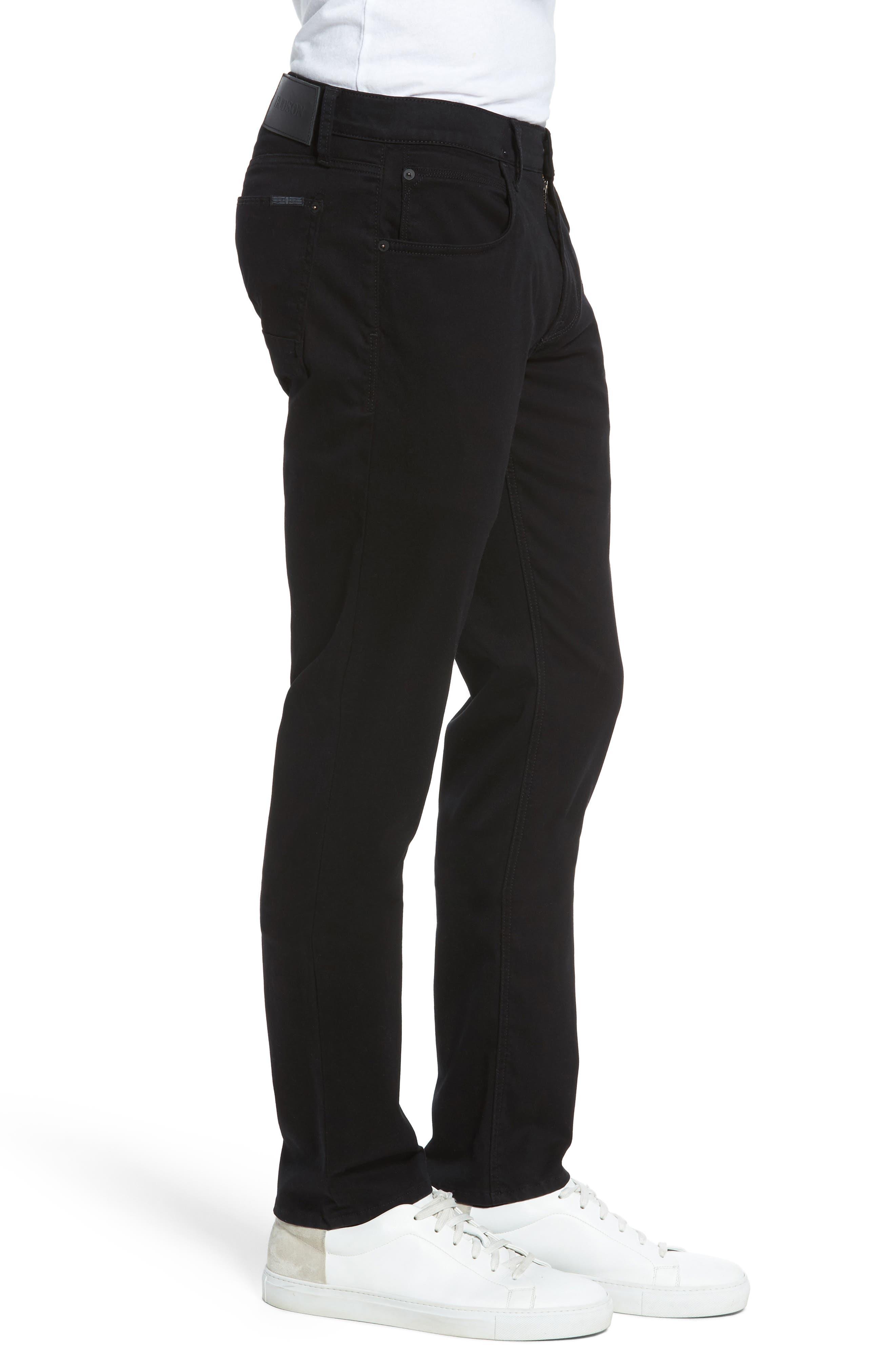 Alternate Image 3  - Hudson Jeans Blake Slim Fit Jeans (Blackened)