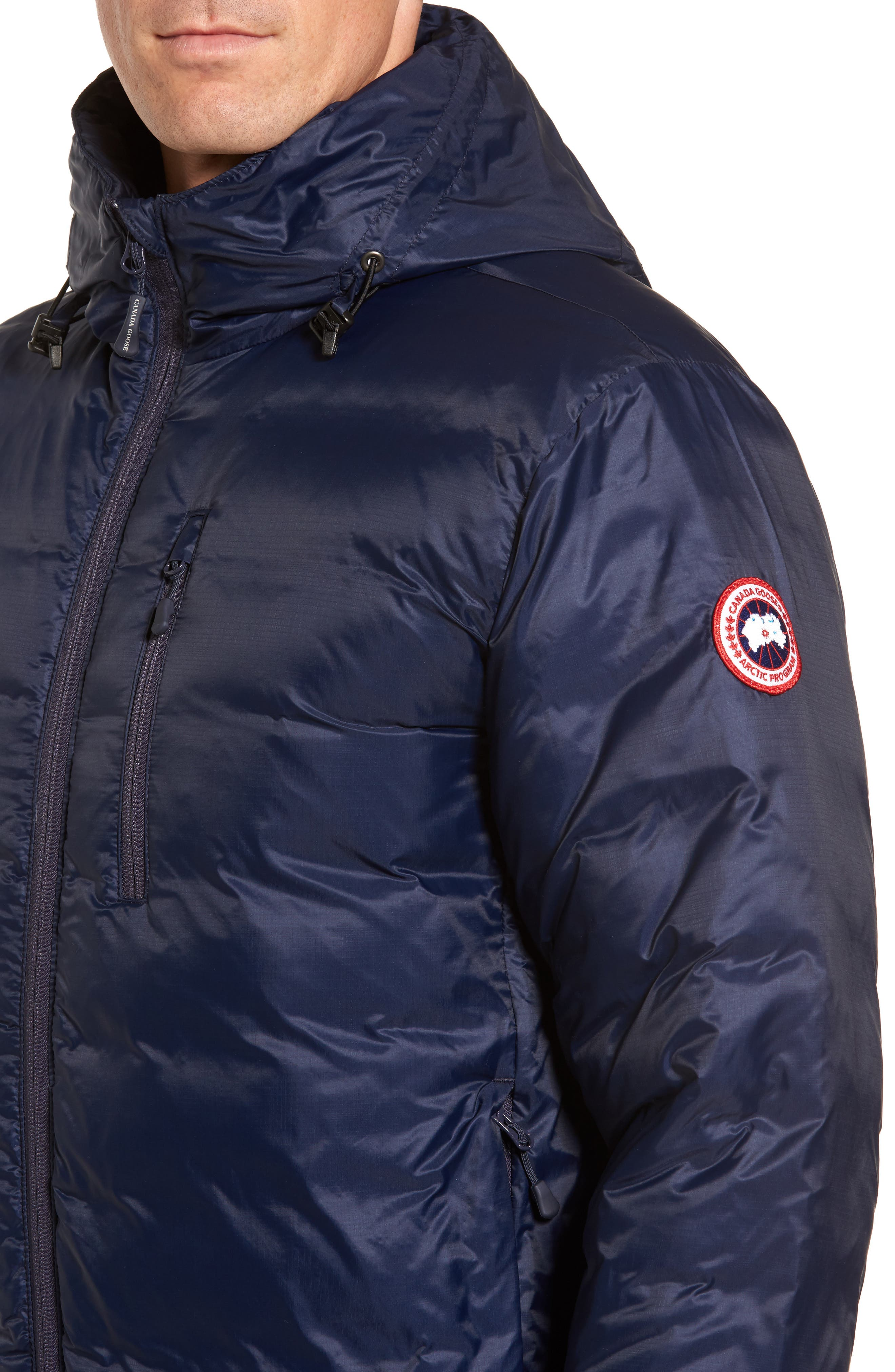 Alternate Image 4  - Canada Goose 'Lodge' Slim Fit Packable Hoodie