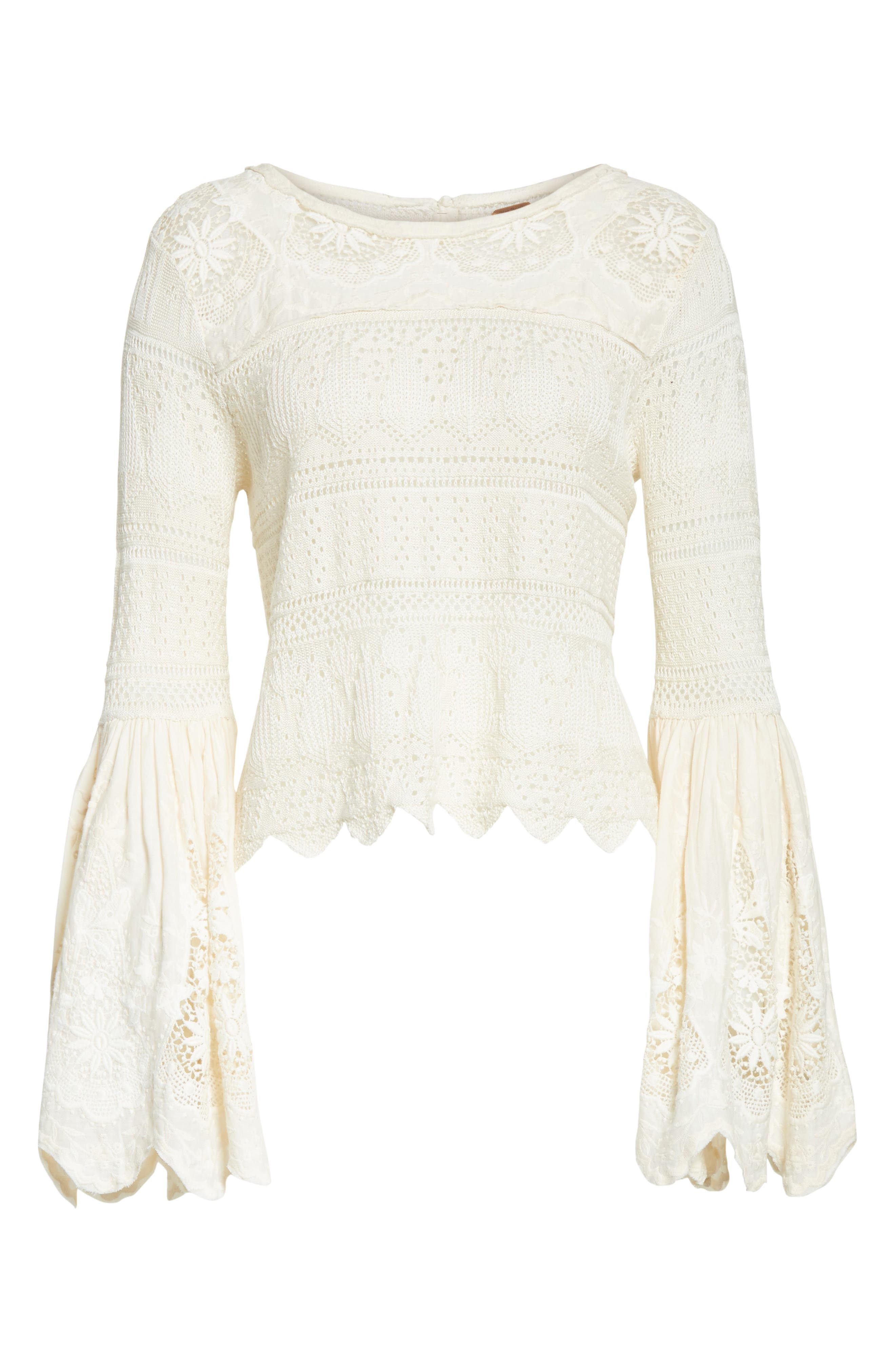 Alternate Image 6  - Free People Once Upon a Time Lace Top