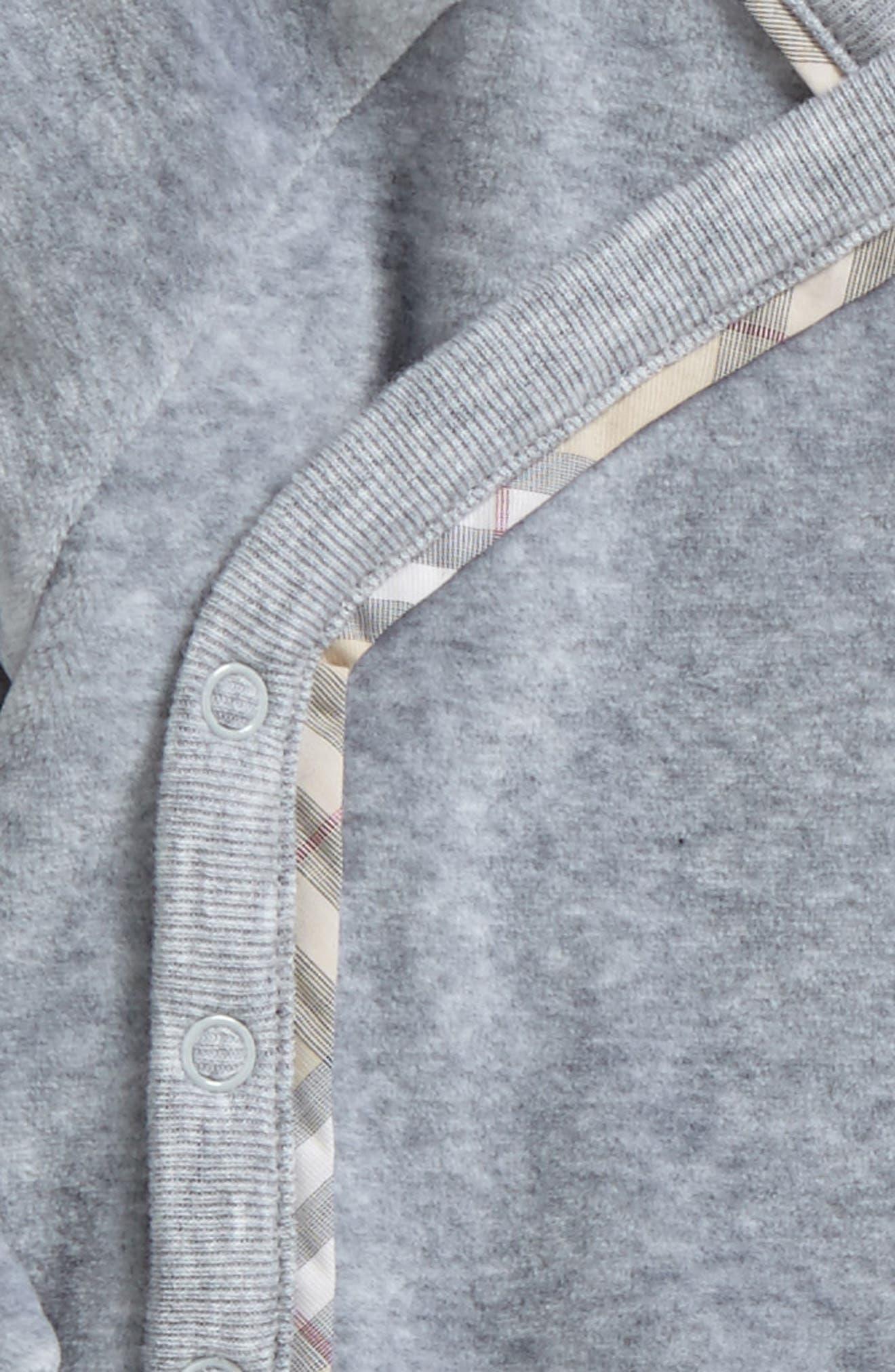 Alternate Image 2  - Burberry Remy Shirt & Pants Set (Baby Boys)
