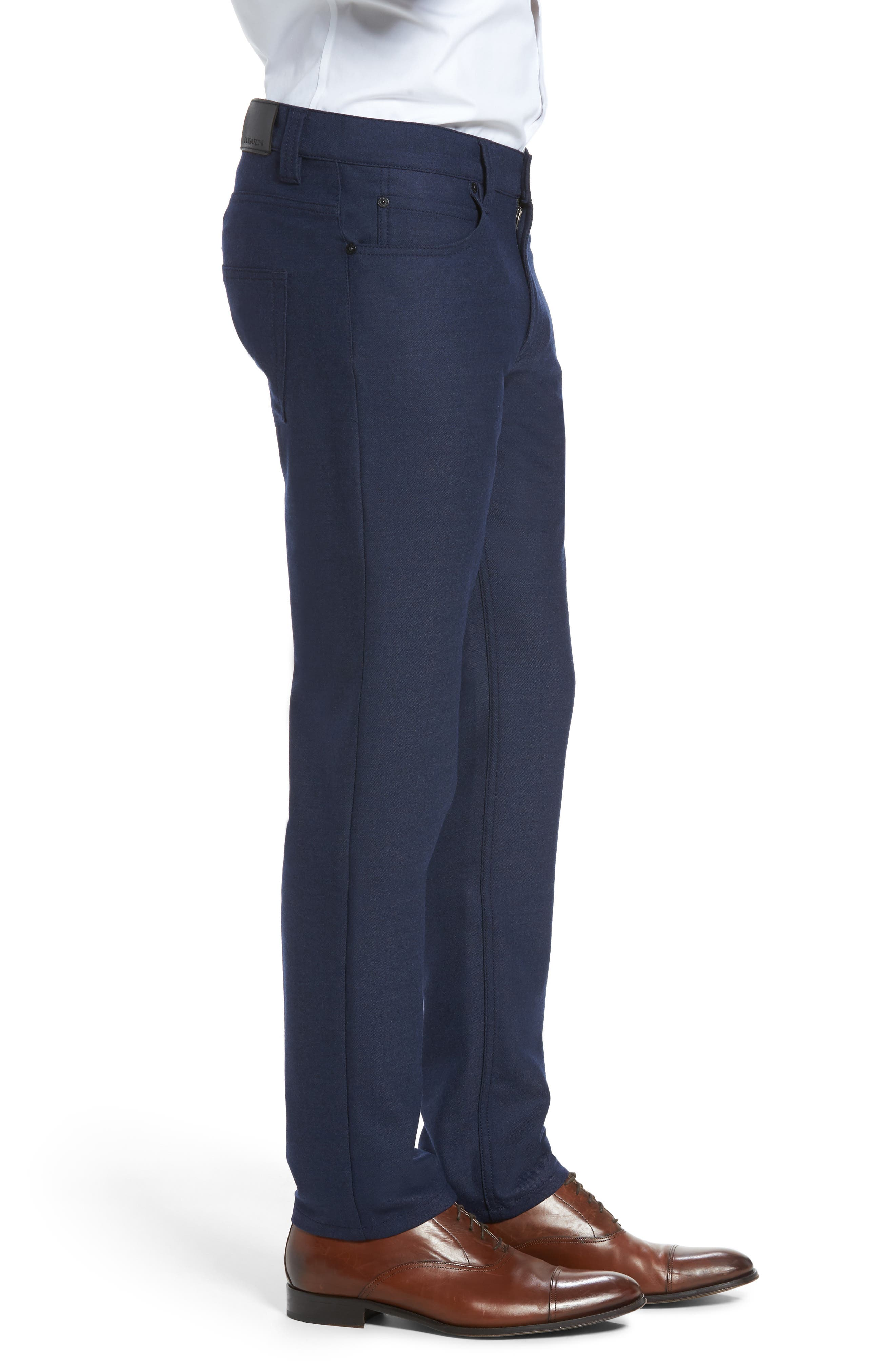 Alternate Image 3  - Bugatchi Wool Blend Pants