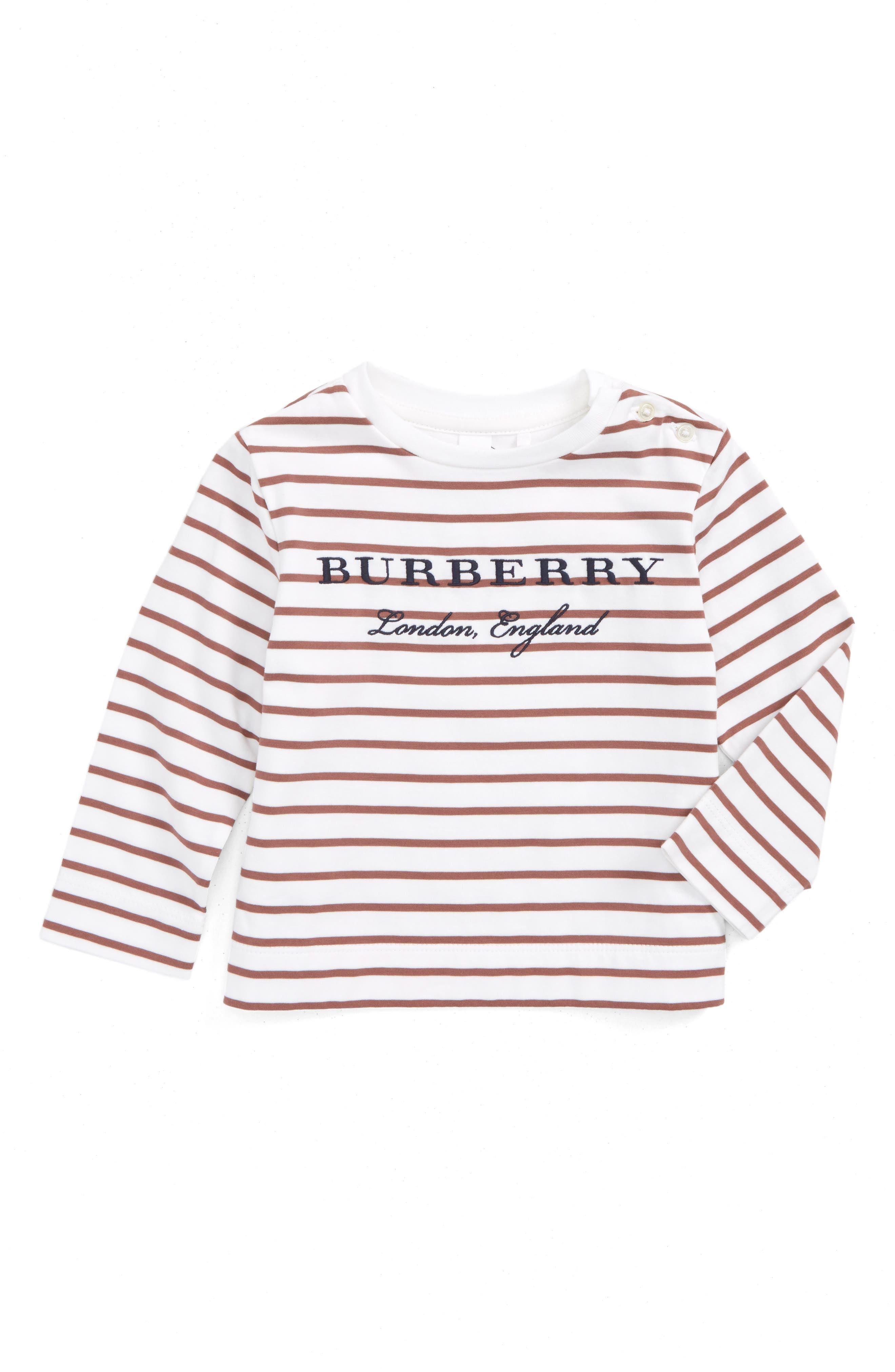 Main Image - Burberry Mini Peggy Tee (Baby Girls)