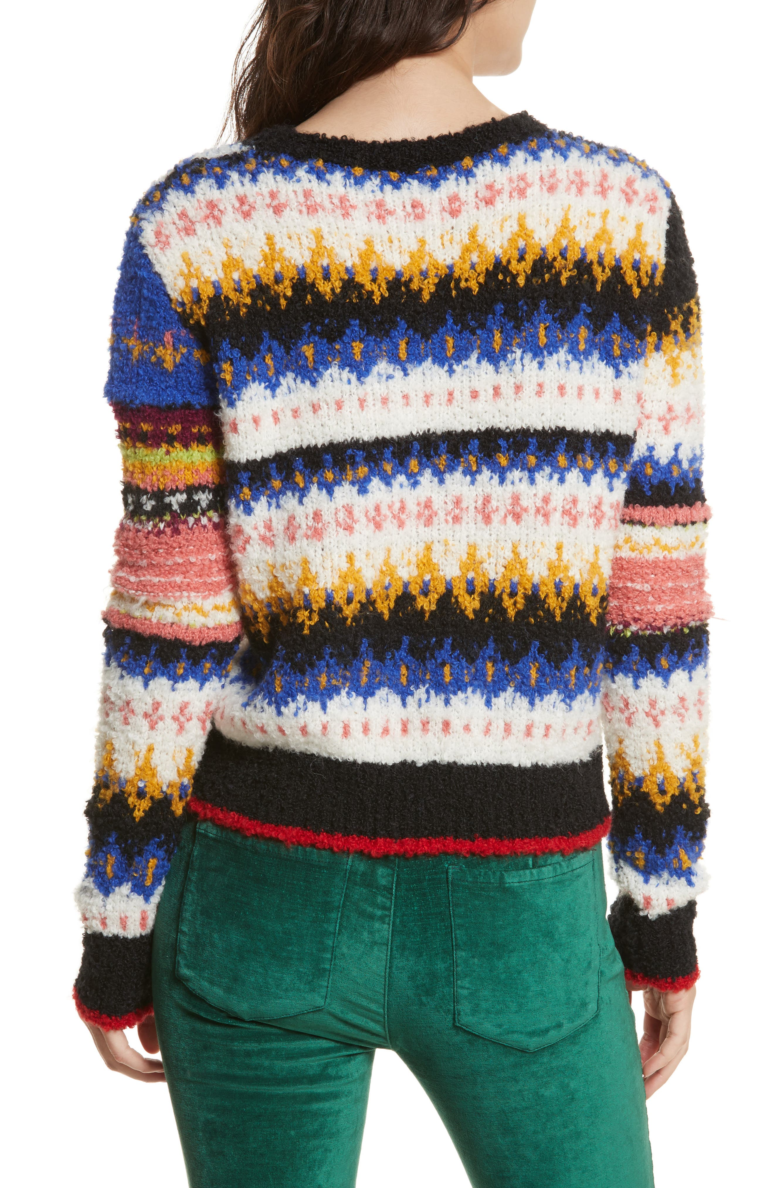 Best Day Ever Sweater,                             Alternate thumbnail 2, color,                             Multi