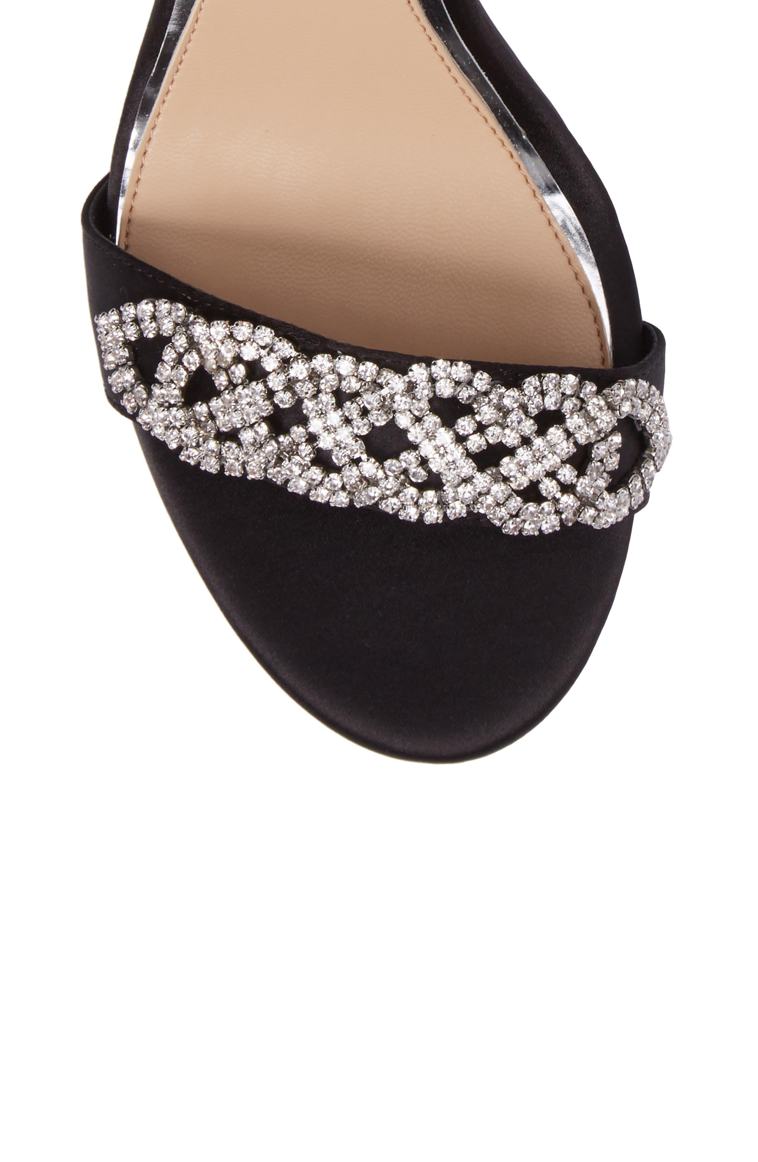 Alternate Image 5  - Jewel Badgley Mischka Alana Ankle Strap Sandal (Women)