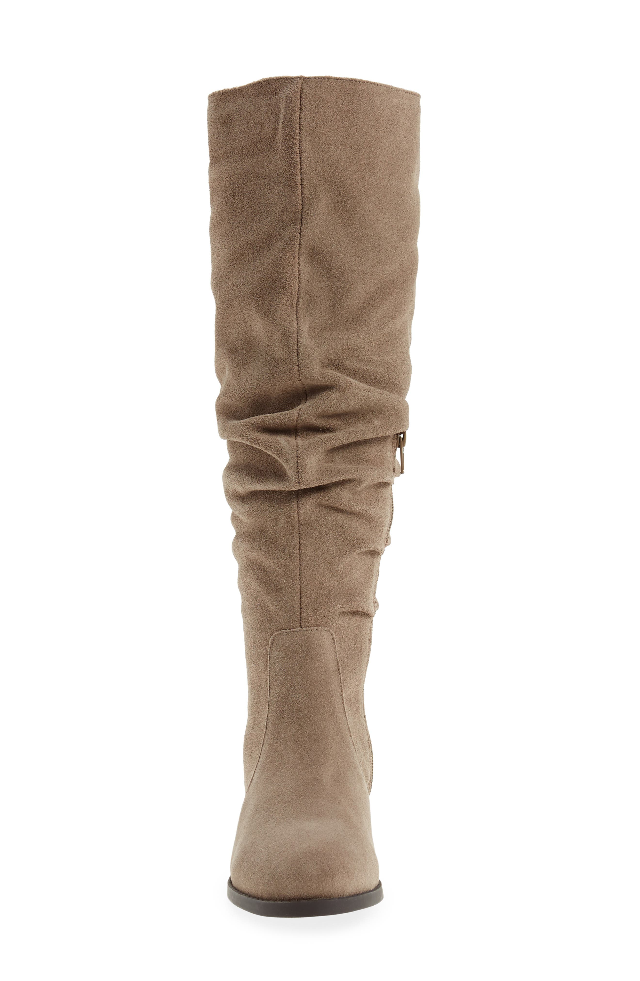 Alternate Image 4  - Steve Maddon Beacon Slouchy Knee-High Boot (Women) (Wide Calf)