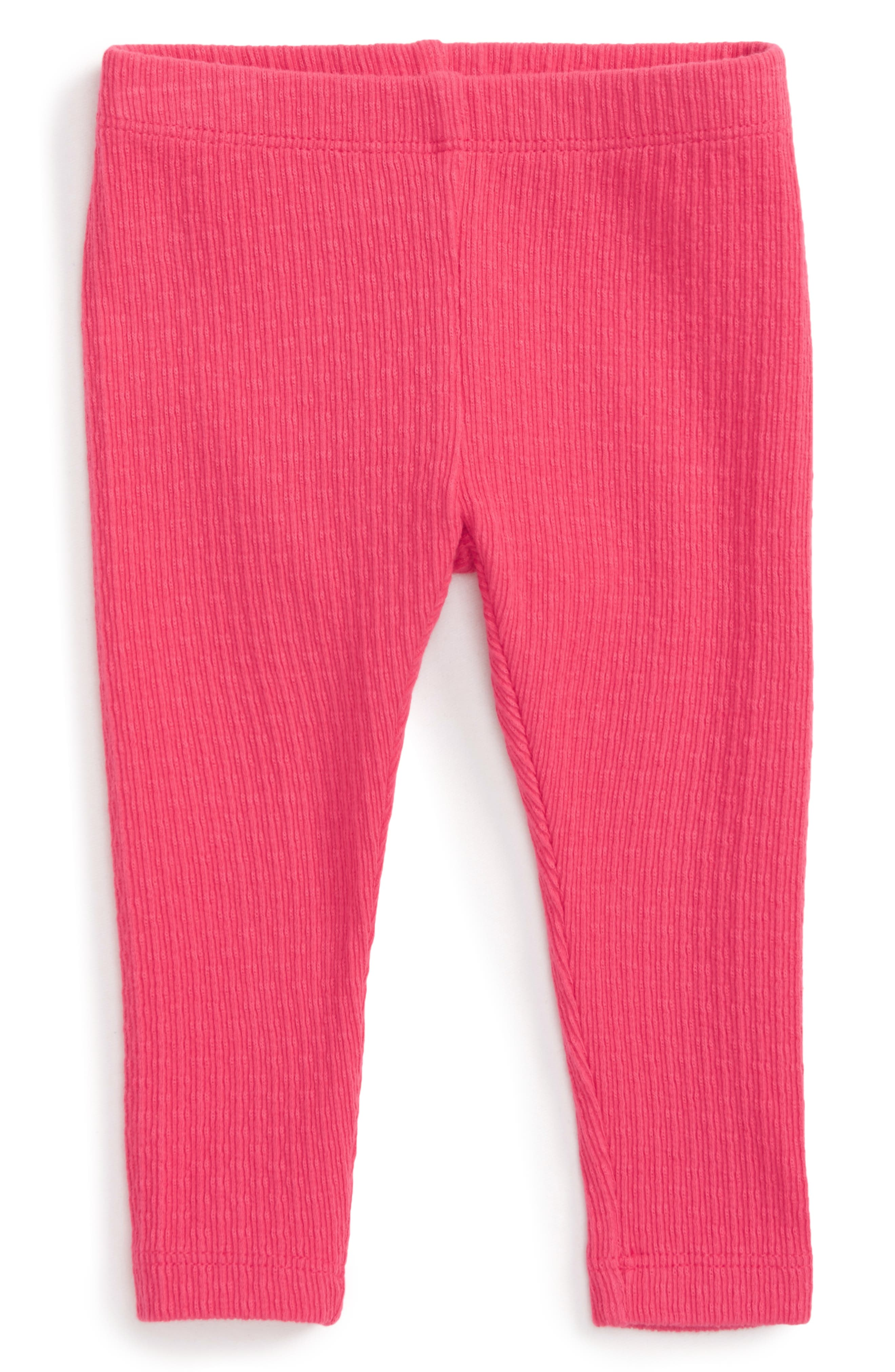 Alternate Image 1 Selected - Tea Collection Pointelle Leggings (Baby Girls)