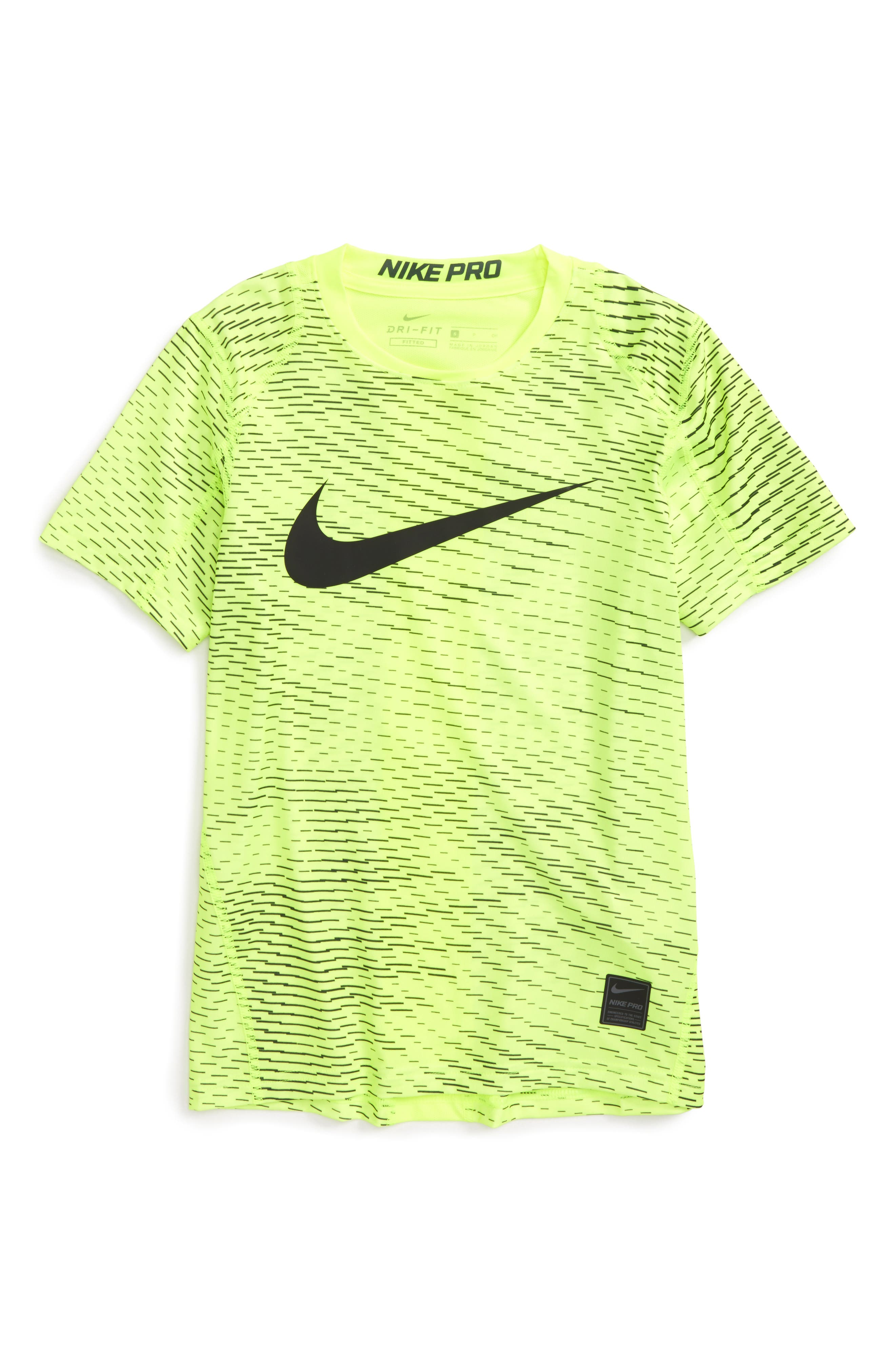 Nike Pro Dry Fitted Logo T-Shirt (Little Boys & Big Boys)