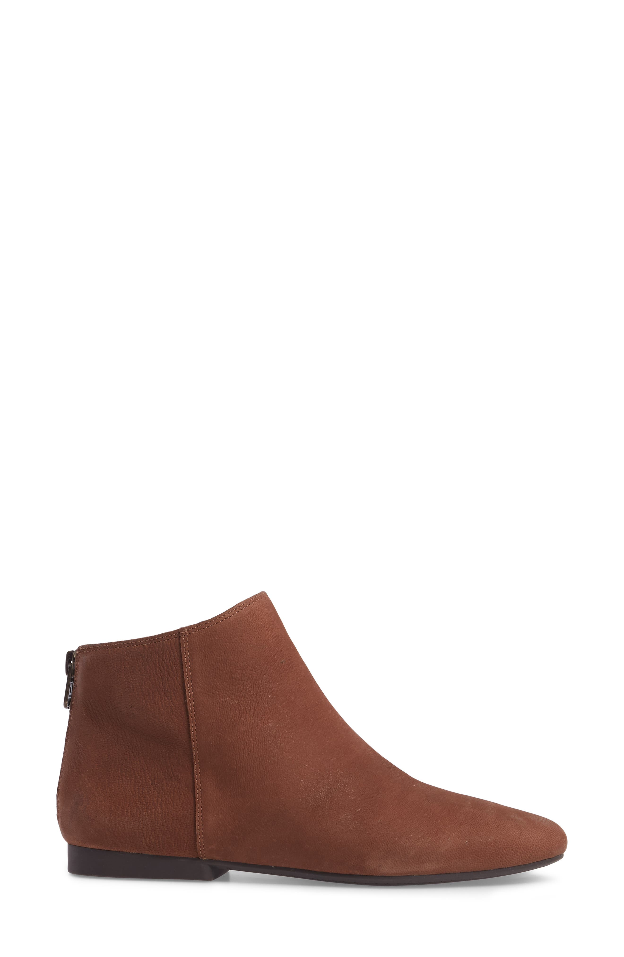 Gaines Bootie,                             Alternate thumbnail 3, color,                             Toffee Leather