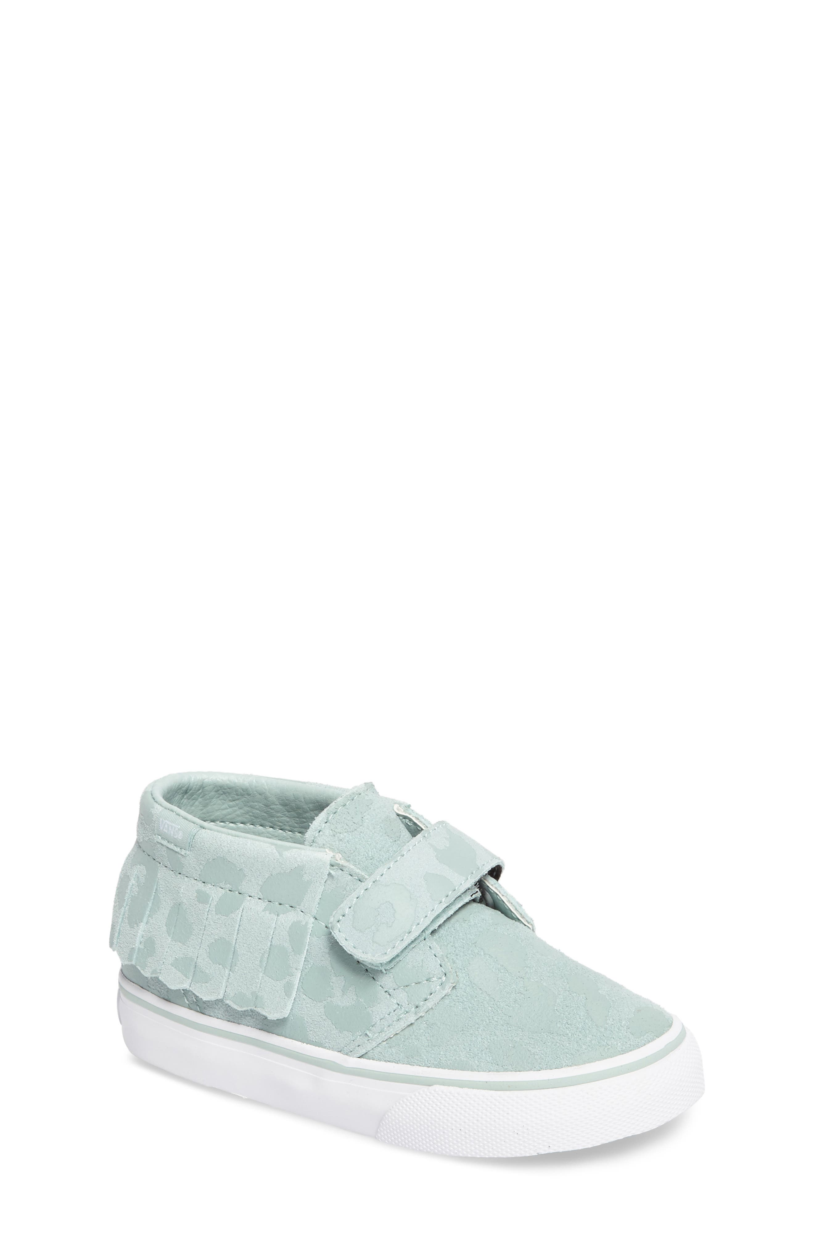 Chukka V Moc Sneaker,                             Main thumbnail 1, color,                             Harbor Gray Leopard Suede