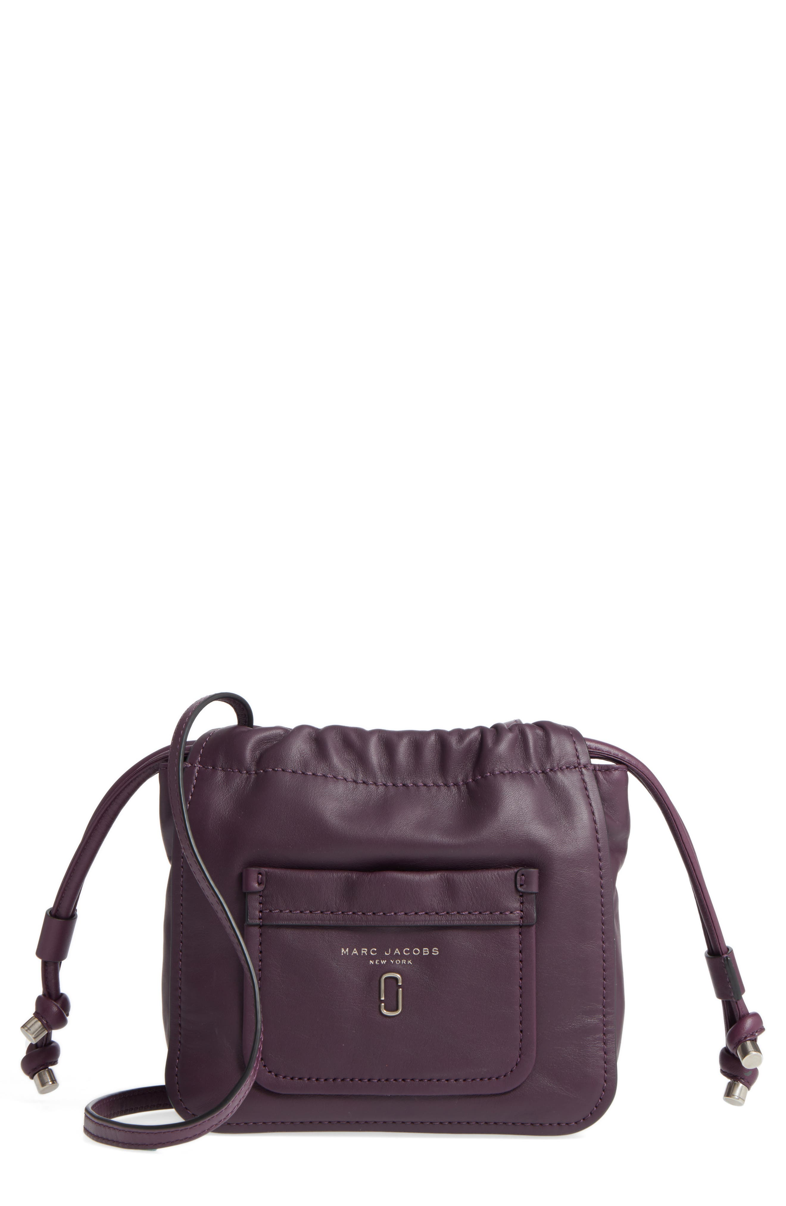 Alternate Image 1 Selected - MARC JACOBS Tied Up Leather Crossbody Bag