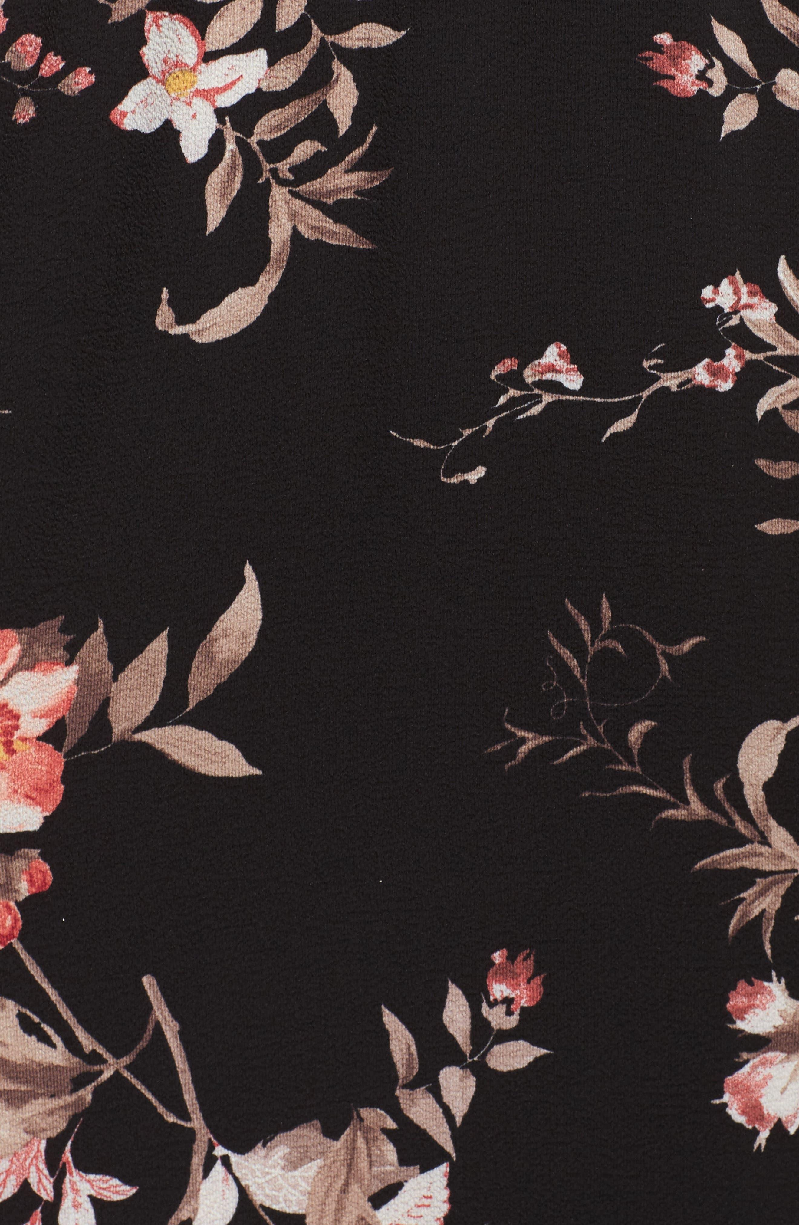 Alternate Image 5  - Fraiche by J Cold Shoulder Midi Dress