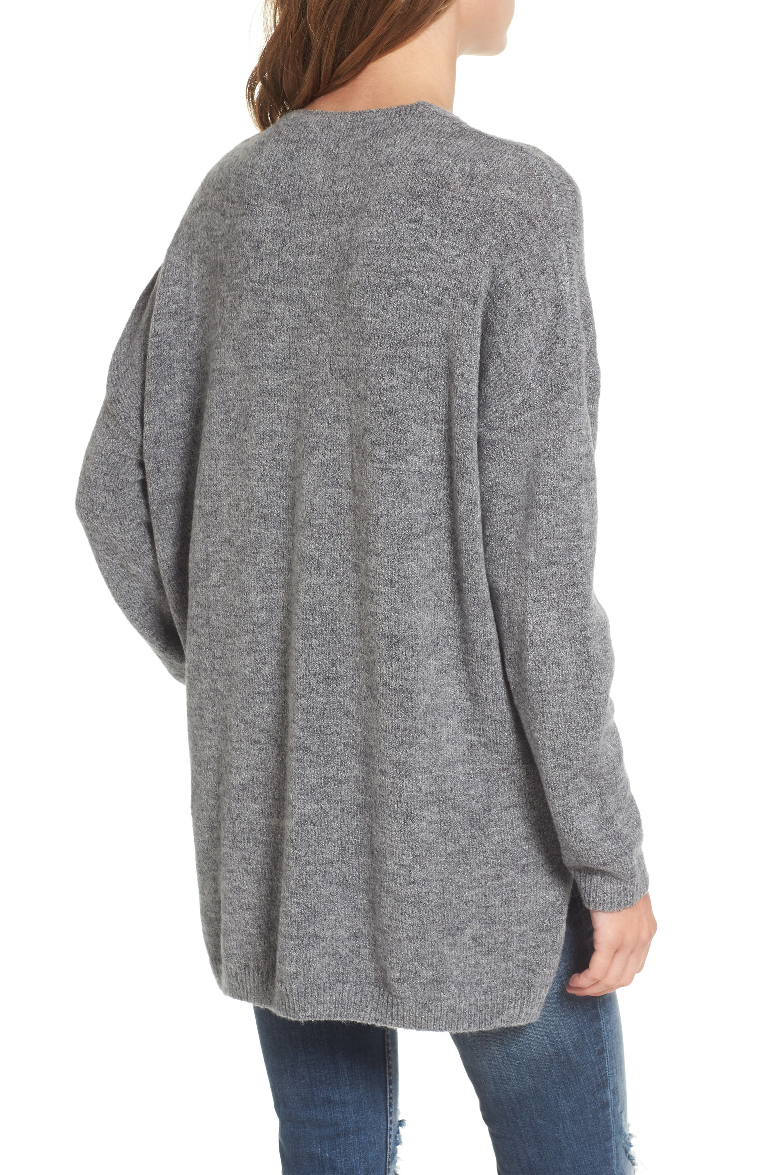 Alternate Image 2  - Dreamers by Debut Exposed Seam Tunic Sweater