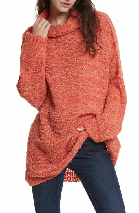Women's Orange Turtleneck Sweaters | Nordstrom