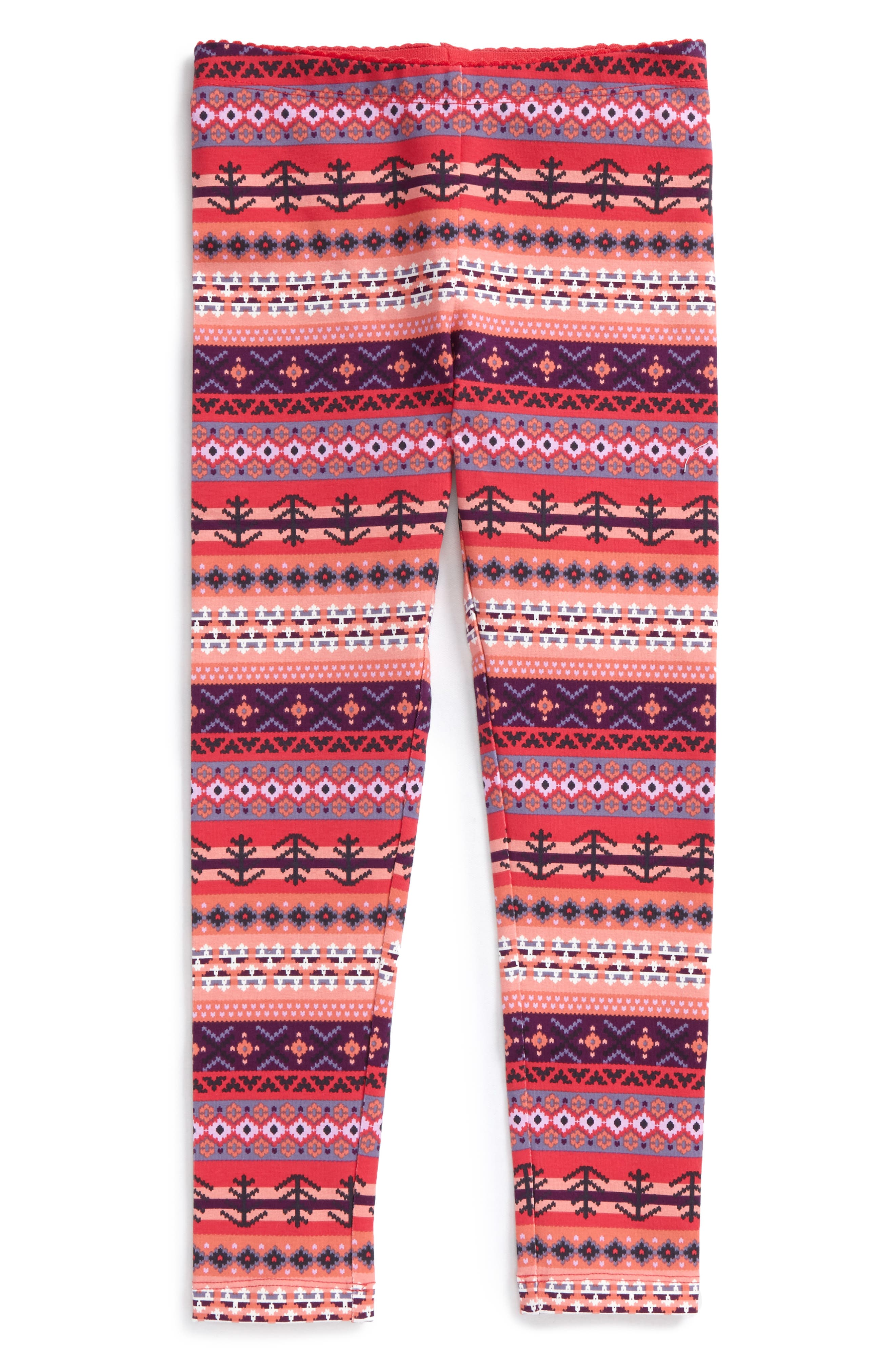 Tea Collection Fair Isle Leggings (Toddler Girls, Little Girls & Big Girls)