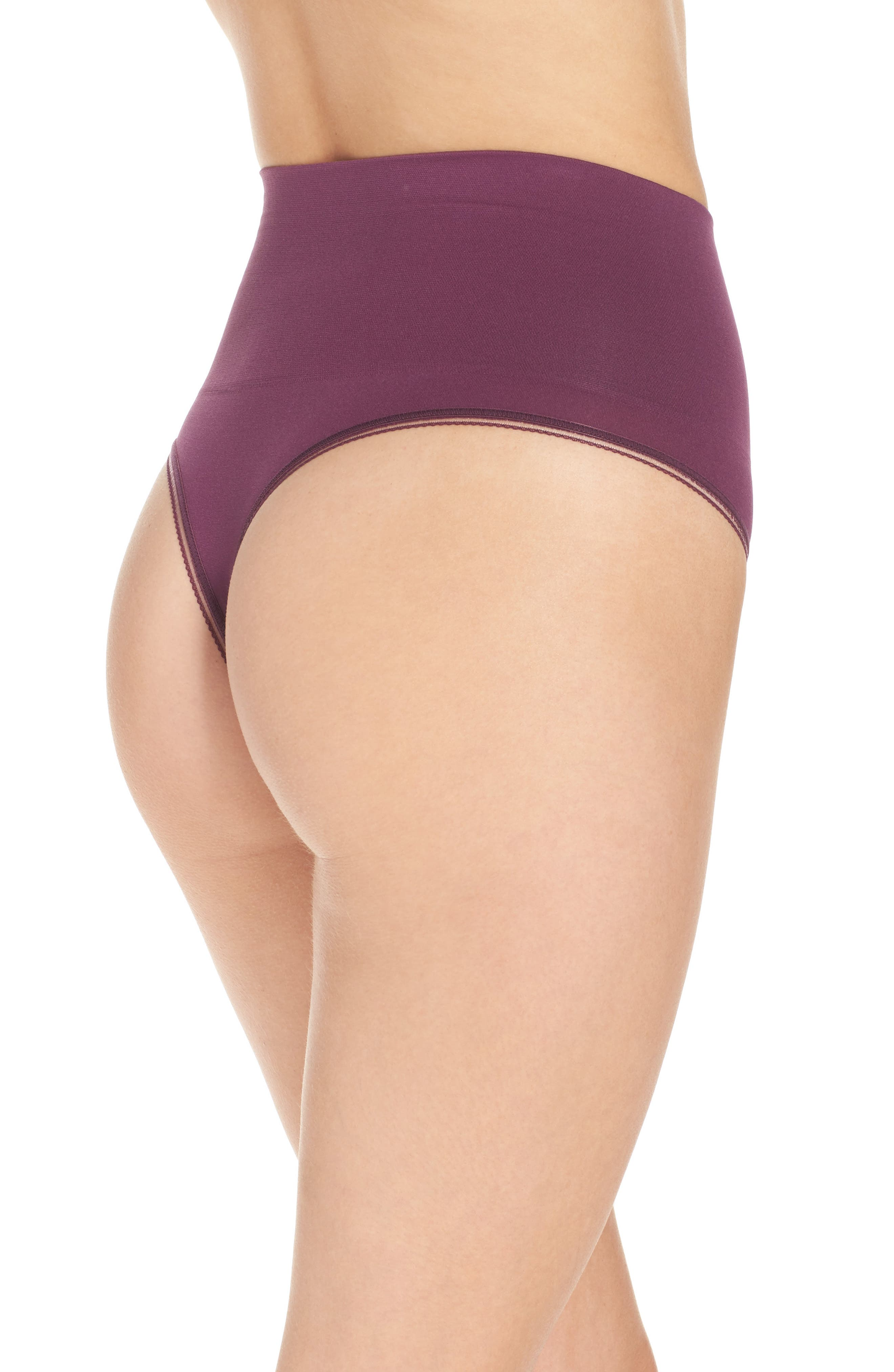 Alternate Image 2  - Yummie Ultralight Seamless Shaping Thong (2 for $30)