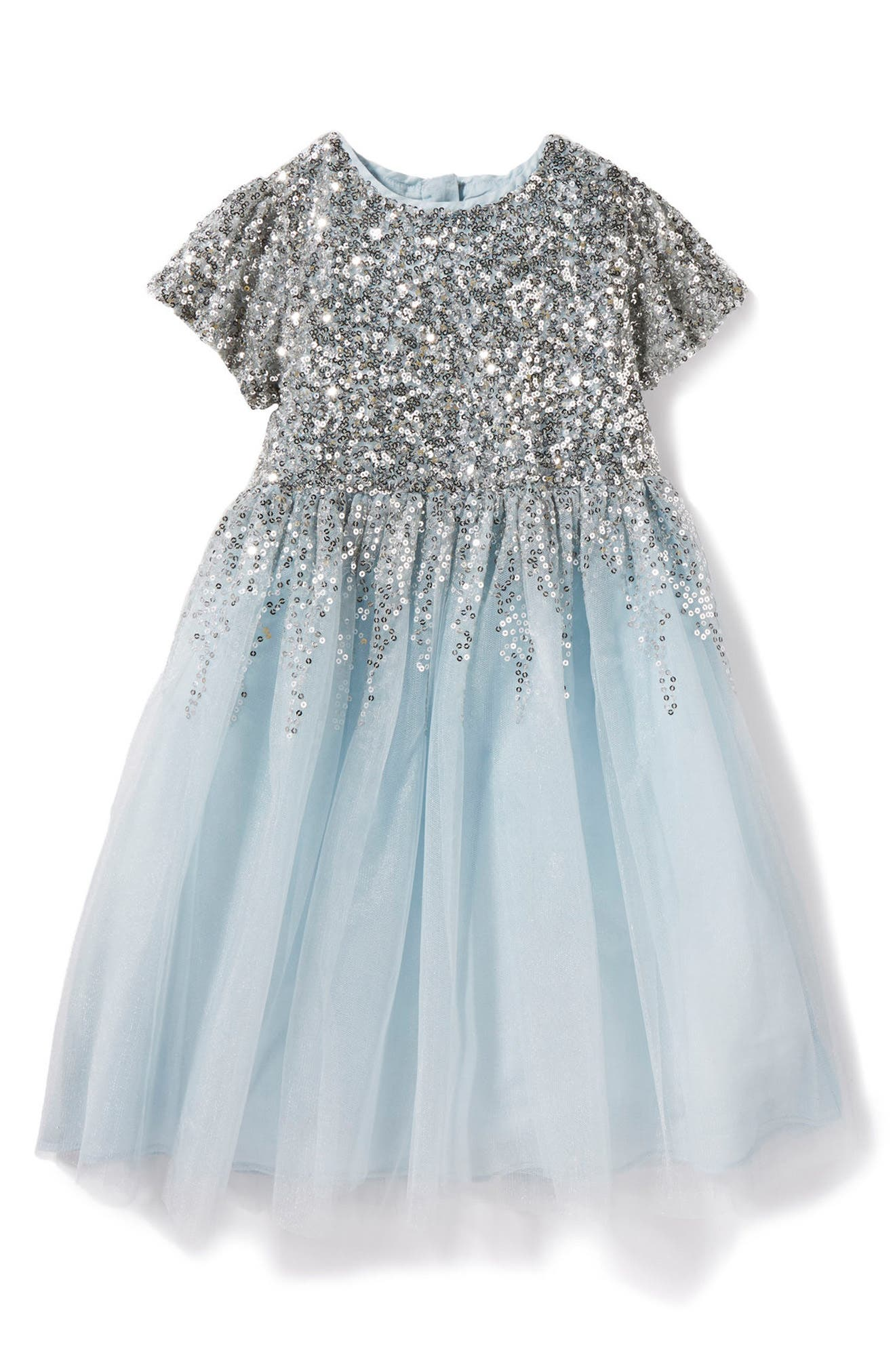 Peek Royal Sequin Tulle Dress (Little Girls & Big Girls)
