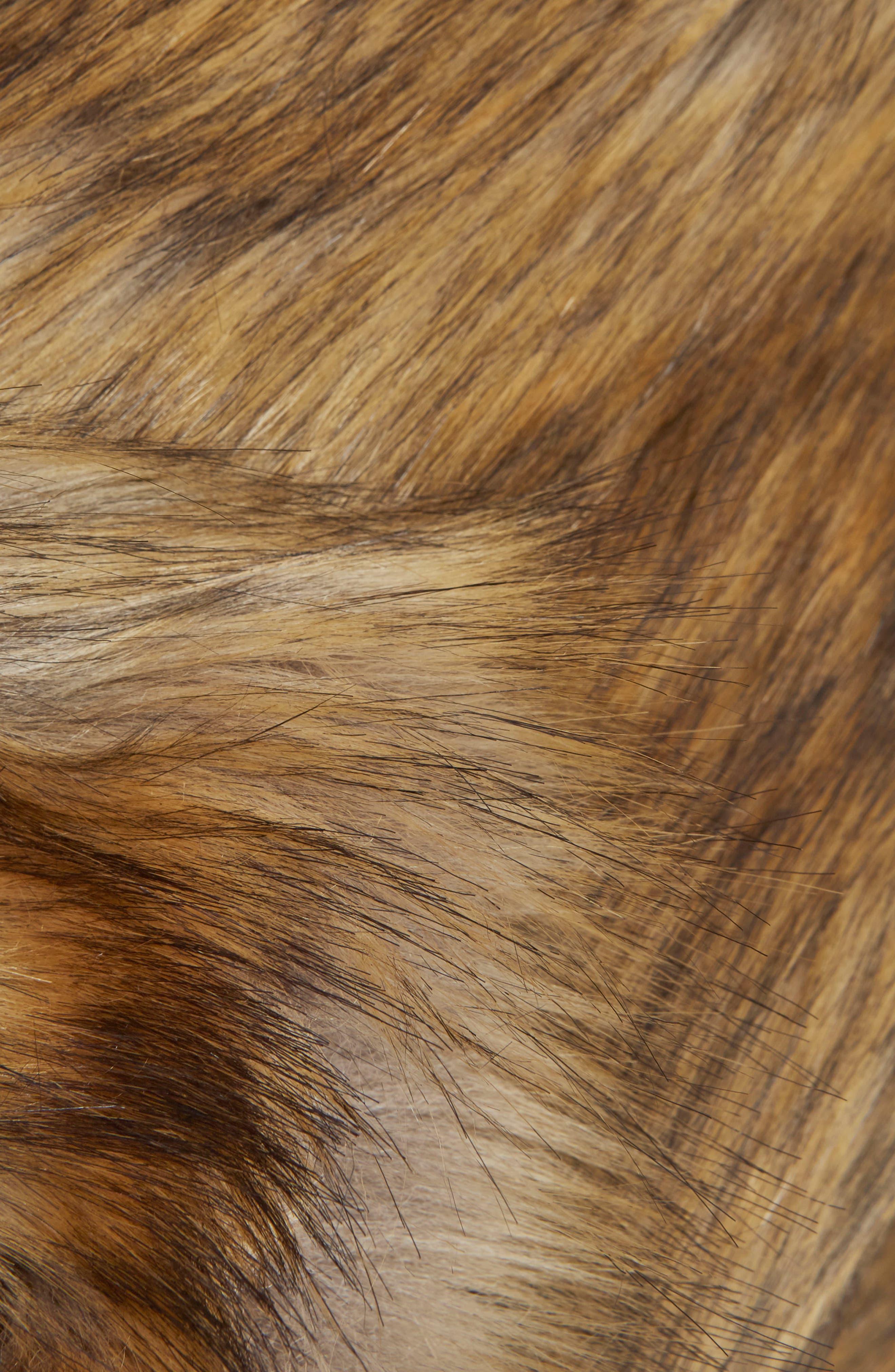 Alternate Image 5  - Topshop Chubby Faux Fur Coat