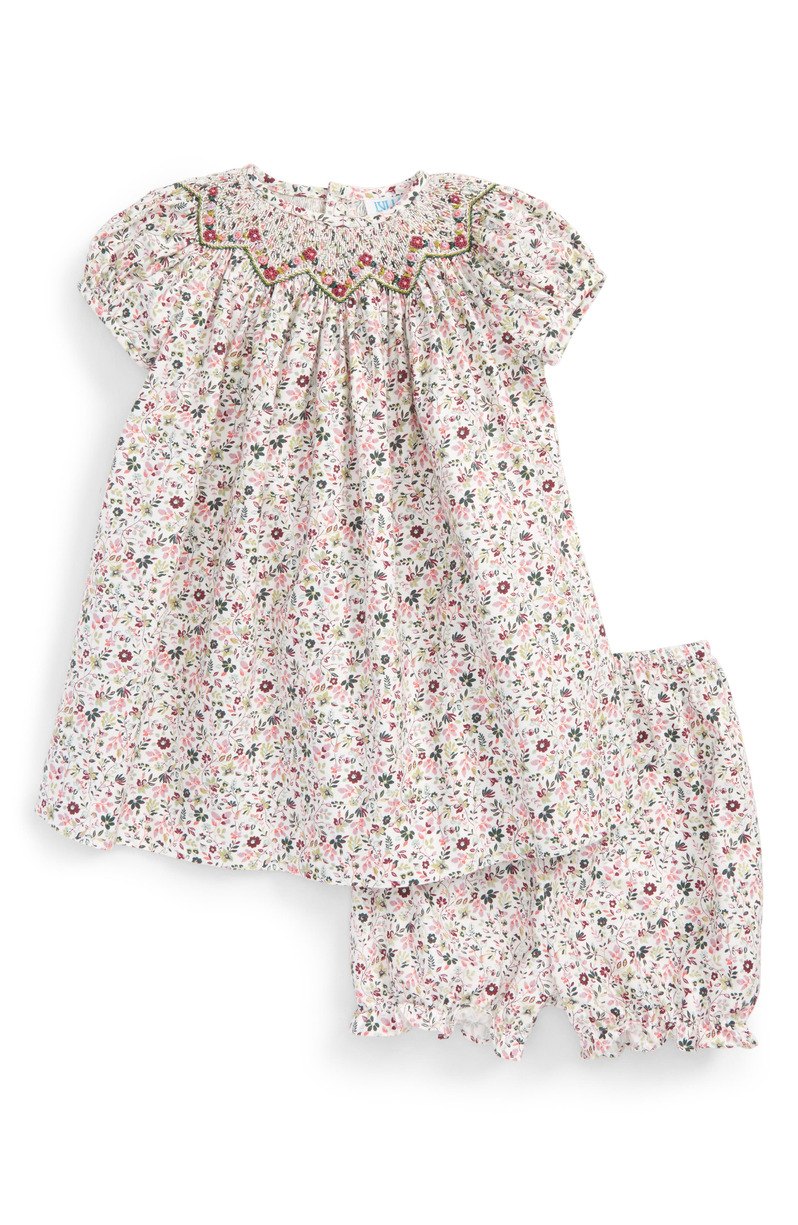 Alternate Image 1 Selected - Luli & Me Belina Shift Dress (Baby Girls)