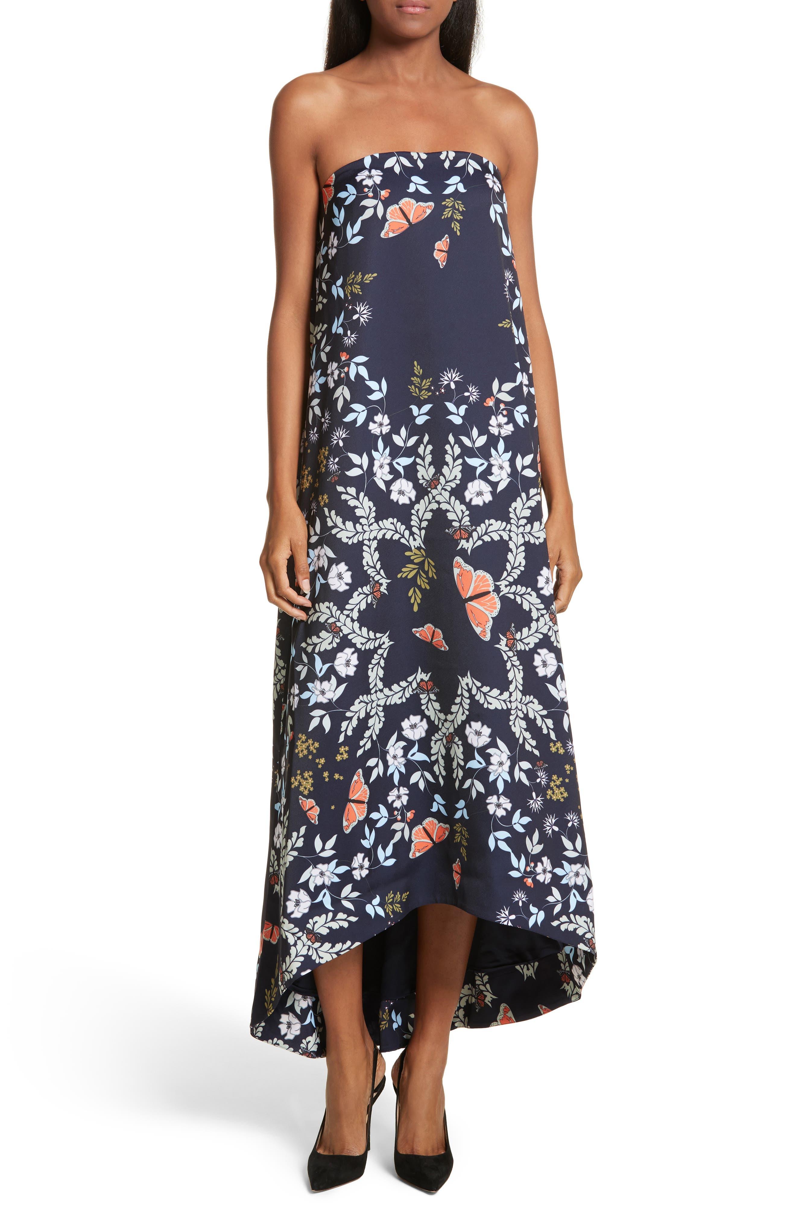 Alternate Image 1 Selected - Ted Baker London Megadon Kyoto Strapless Maxi Dress