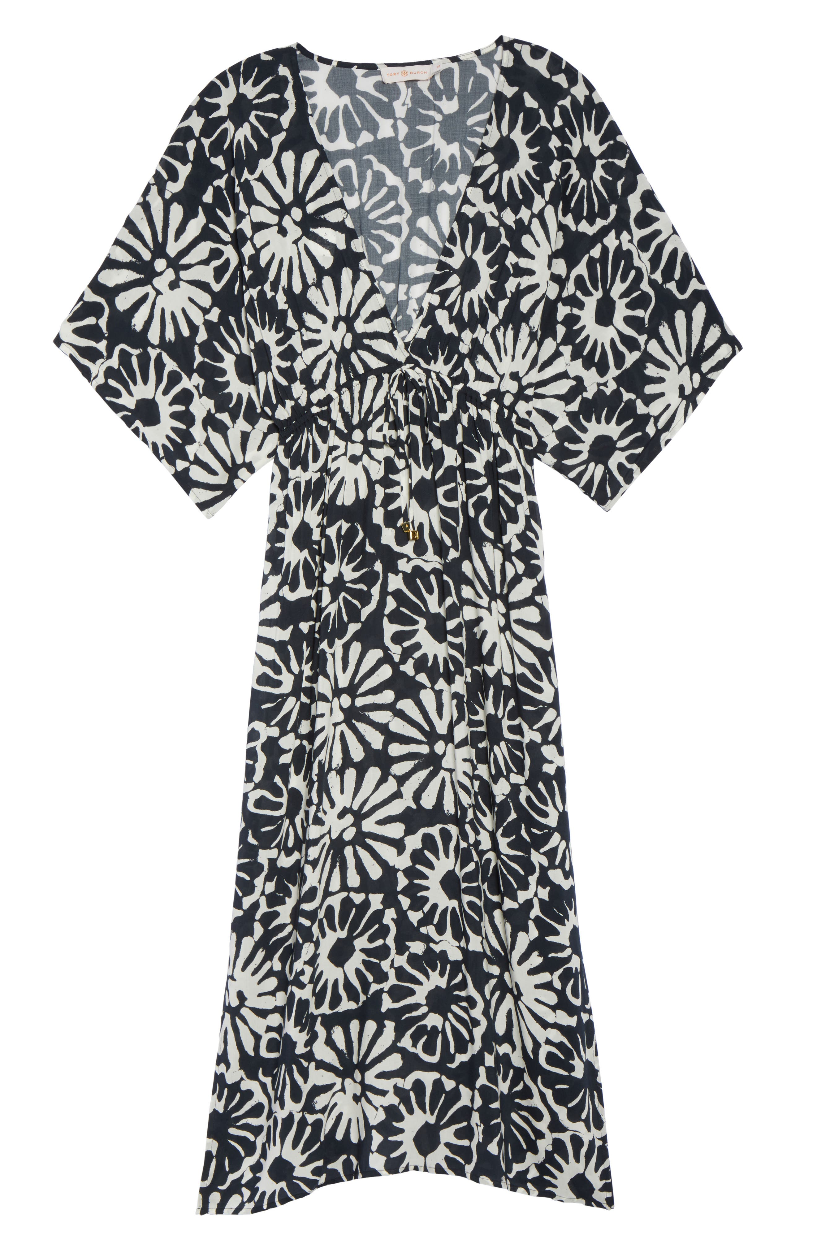 Alternate Image 6  - Tory Burch Pomelo Floral Cover-Up Dress