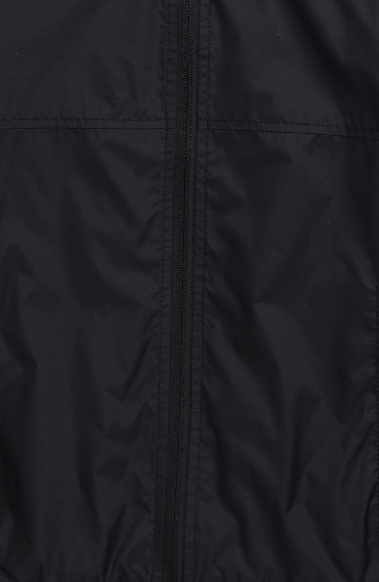 Ermont Hooded Nylon Jacket,                             Alternate thumbnail 2, color,                             Black