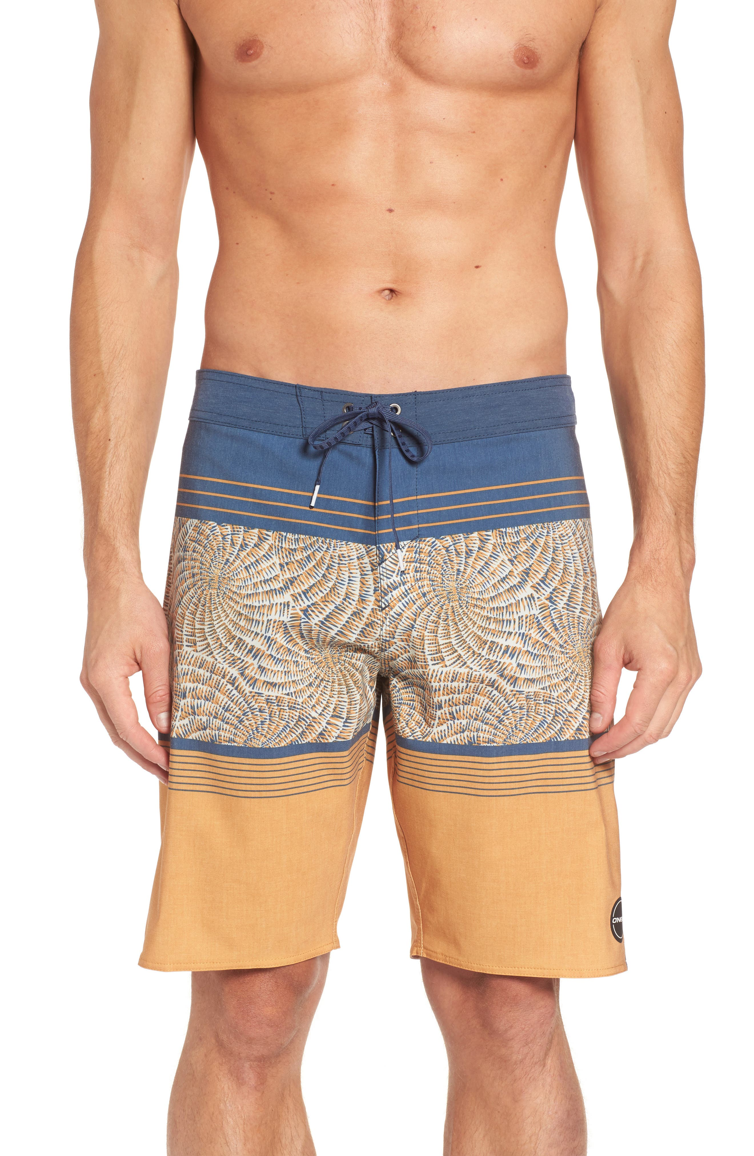 Hyperfreak Nautilus S-Seam Board Shorts,                         Main,                         color, Gold